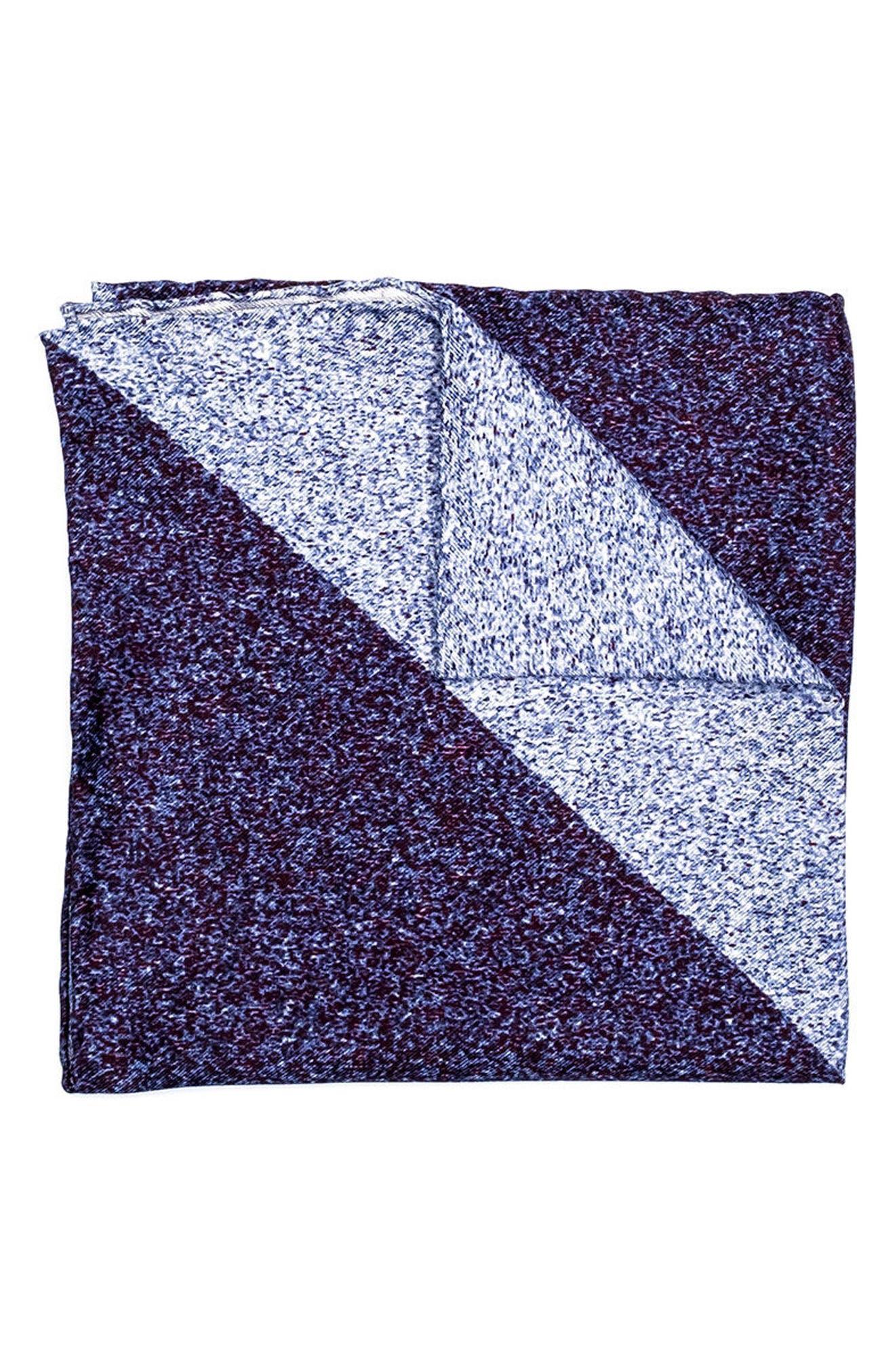 hook + ALBERT Geometric Silk Pocket Square