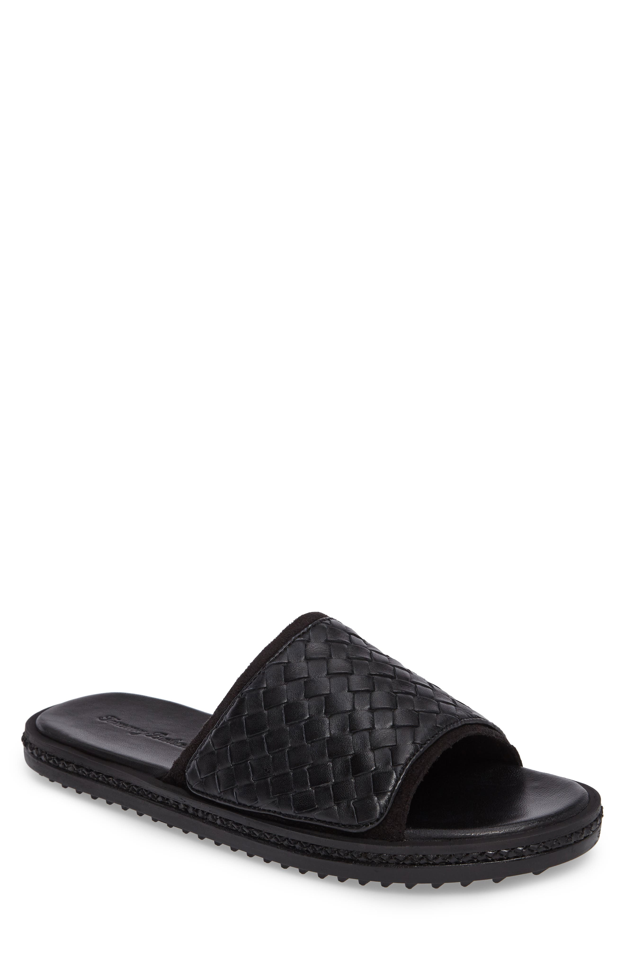 Tommy Bahama Shore Crest Woven Slide Sandal (Men)