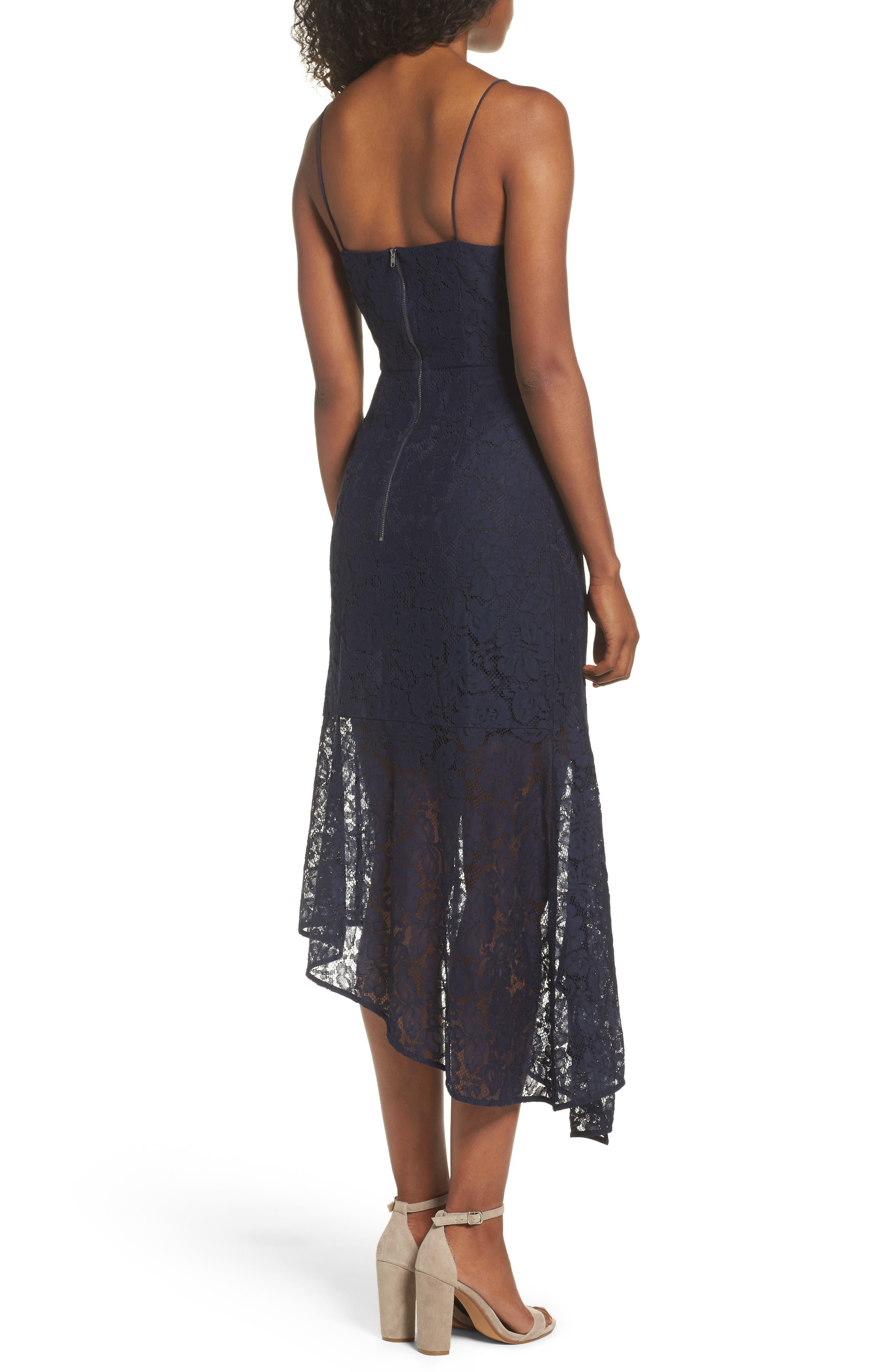 Alternate Image 2  - Cooper St Soho Lace Midi Dress