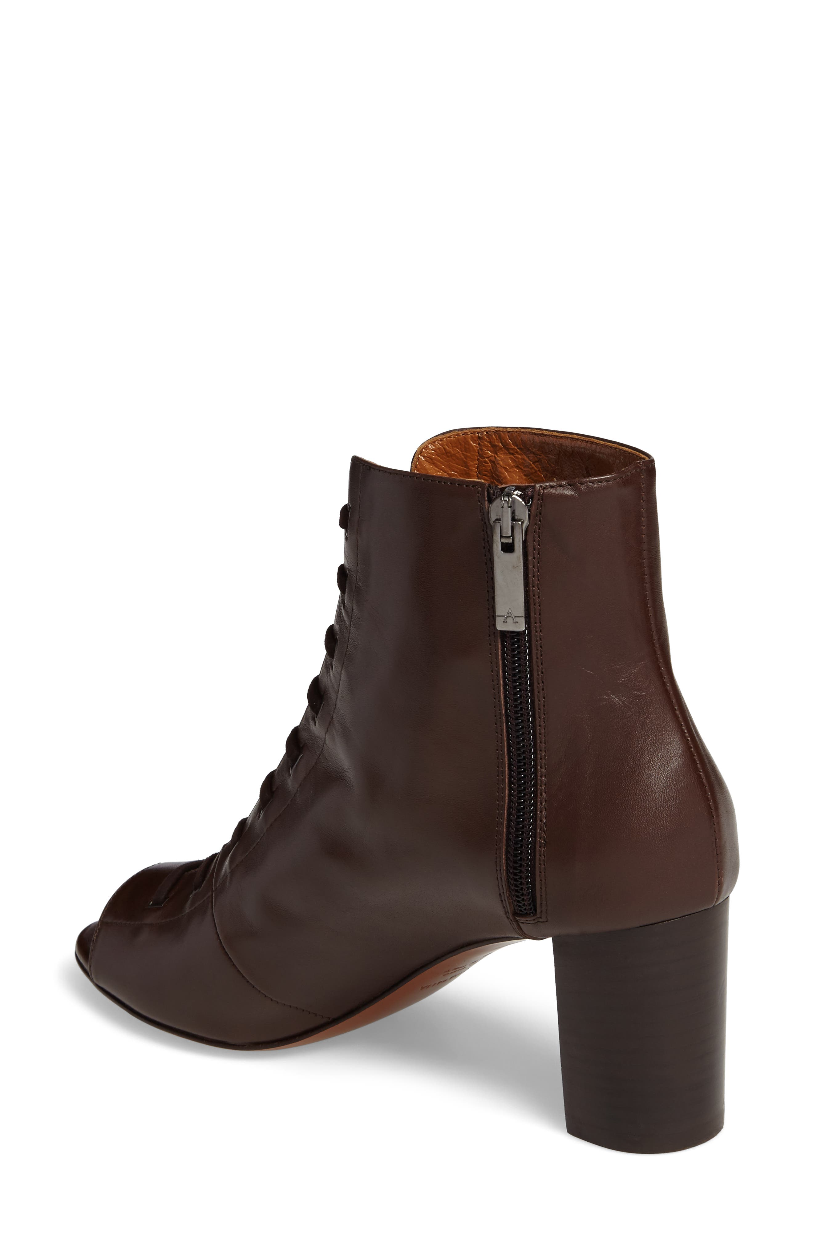 Alternate Image 2  - Aquatalia Stefania Weatherproof Open Toe Bootie (Women)