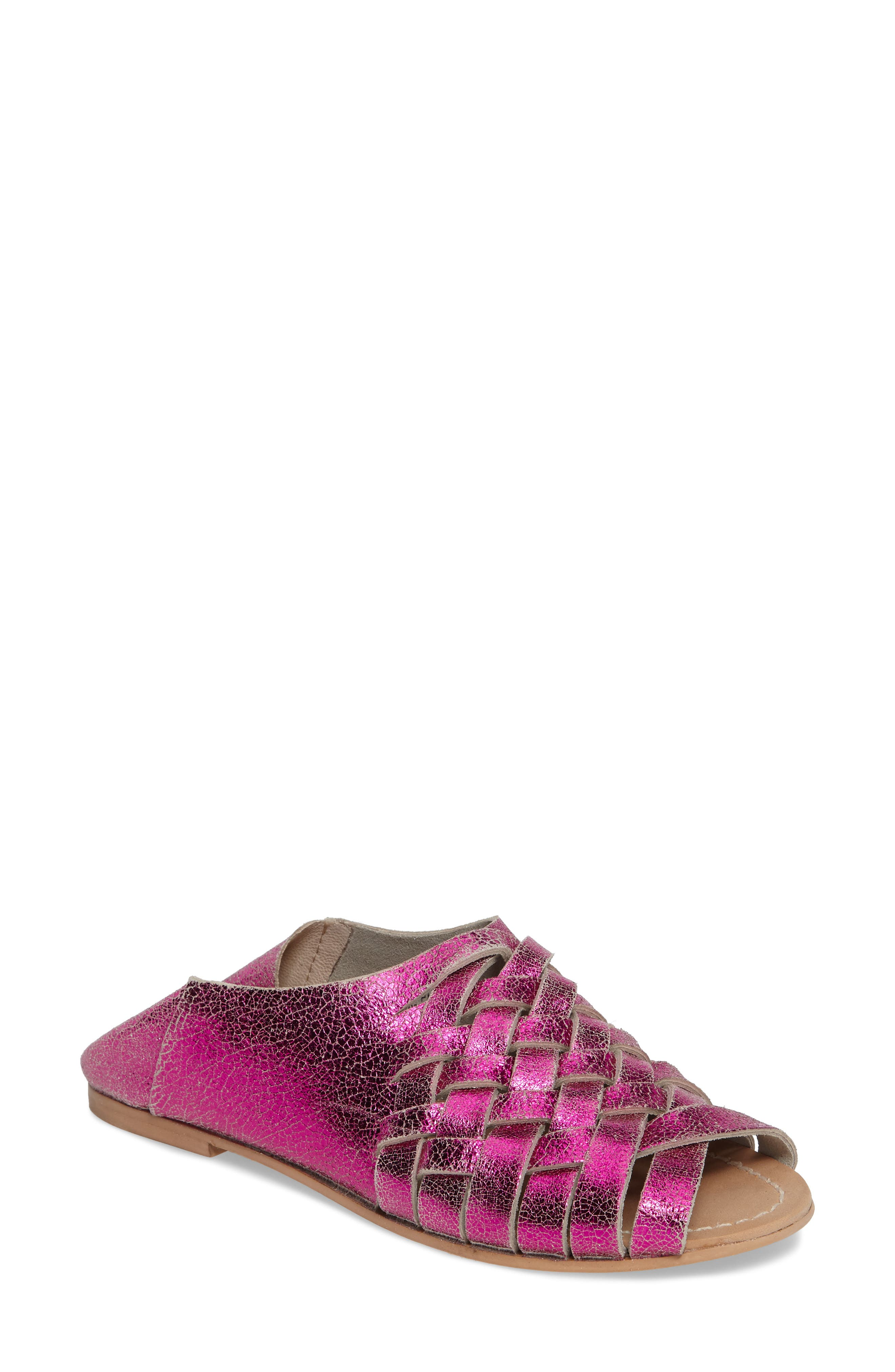 Topshop Florida Convertible Woven Sandal (Women)