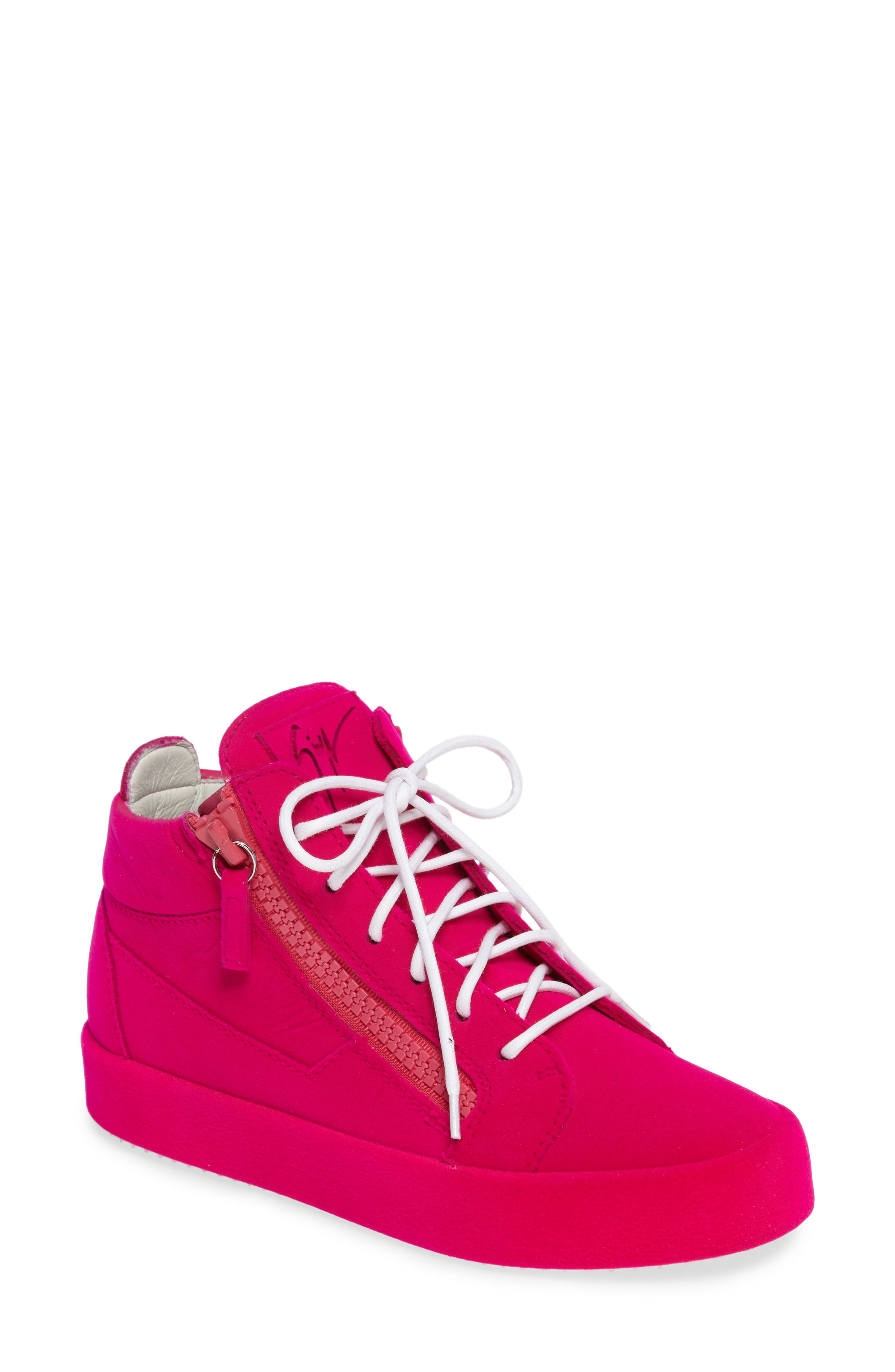 Main Image - Giuseppe Zanotti Zipper Sneaker (Women)
