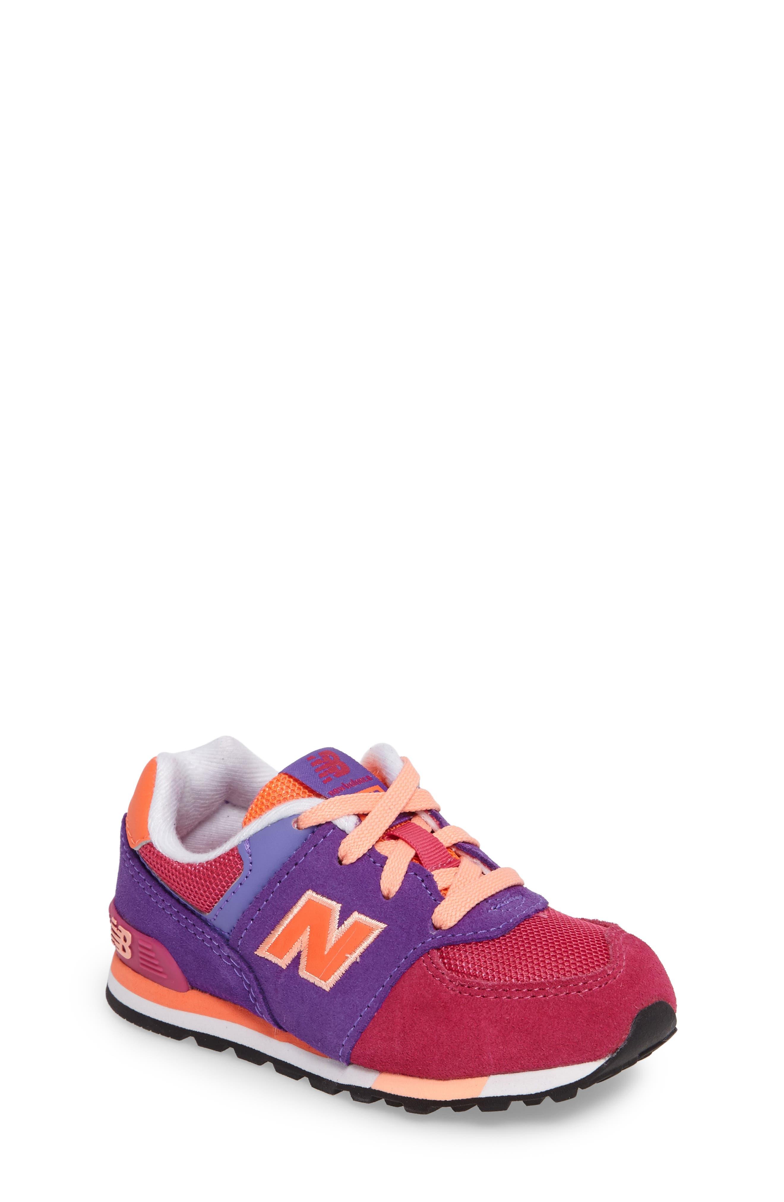 New Balance 574 Cut & Paste Sneaker (Baby, Walker & Toddler)