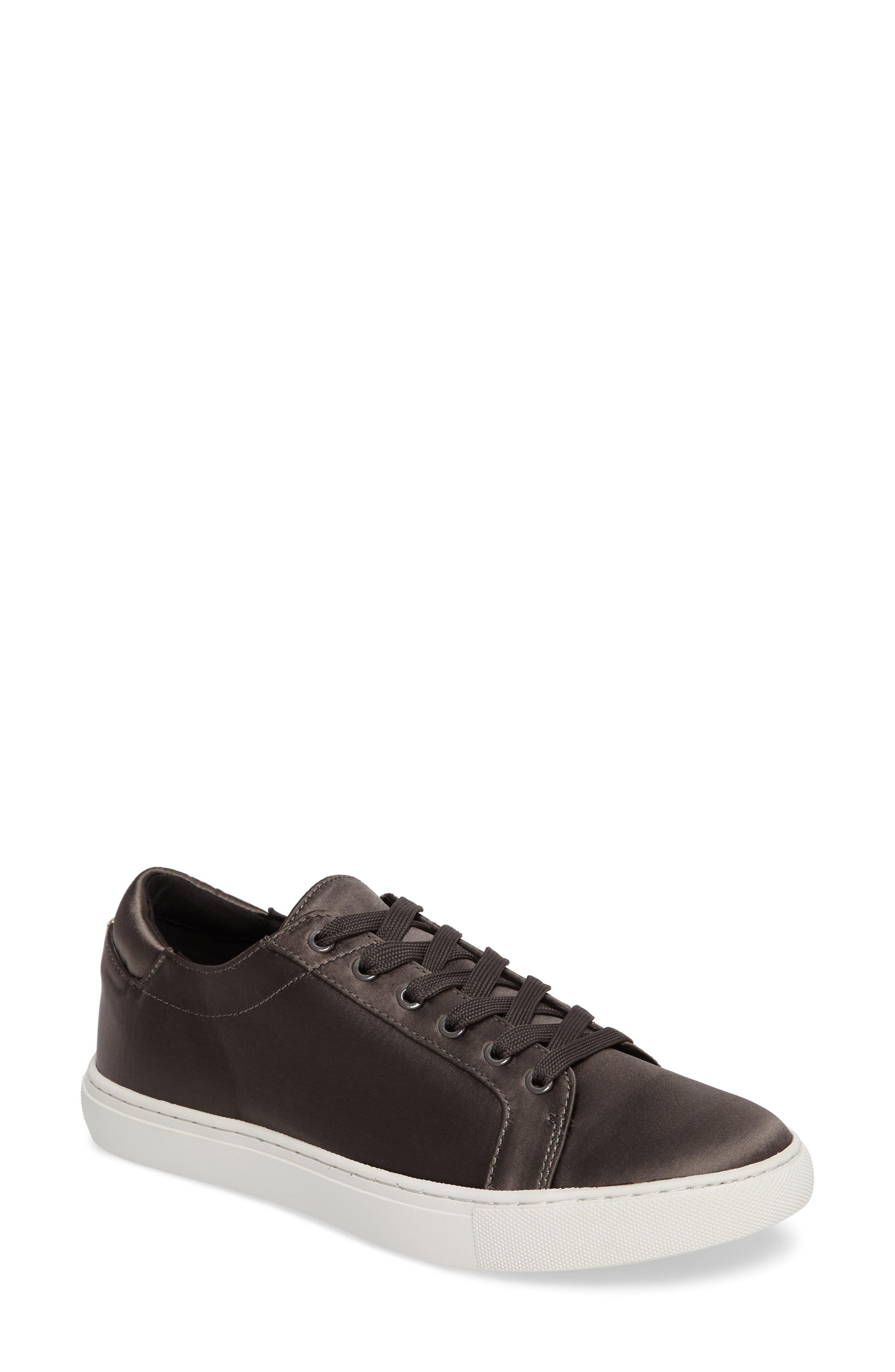 'Kam' Sneaker,                         Main,                         color, Charcoal Satin