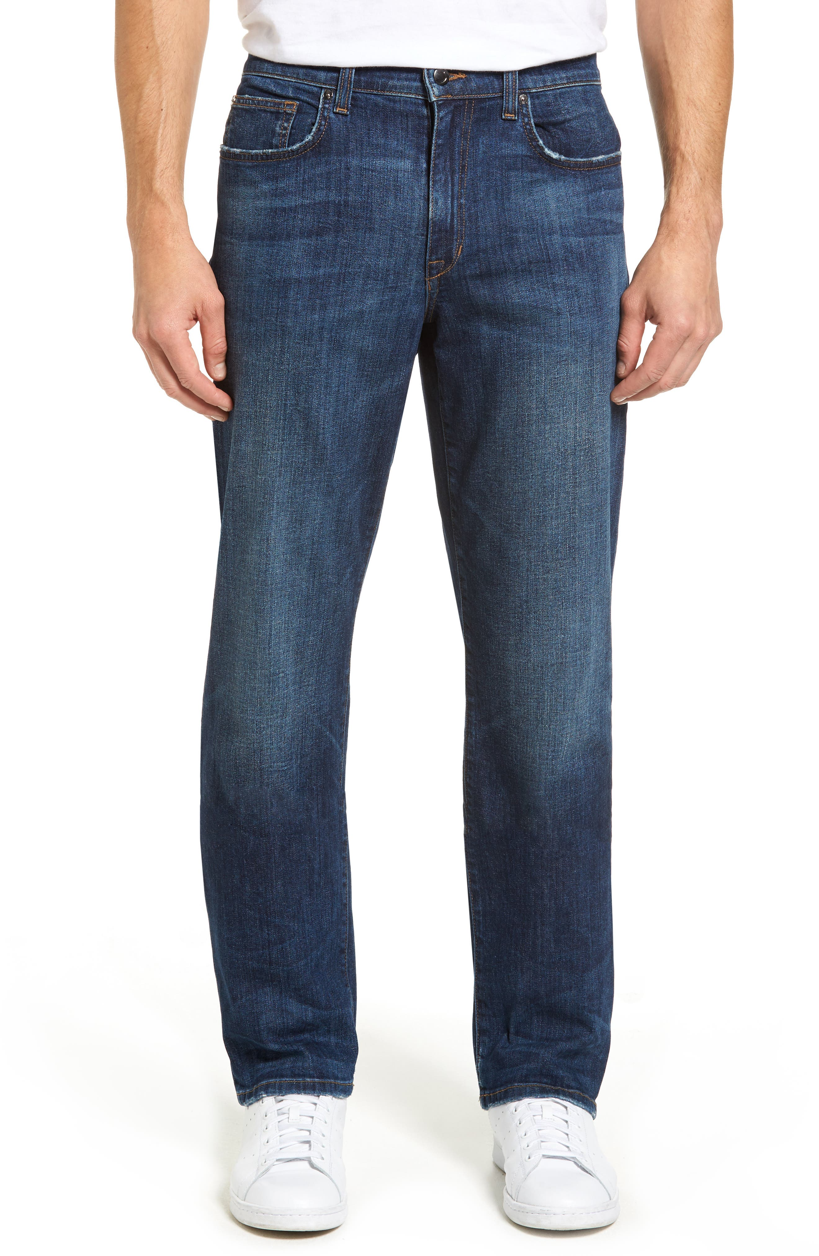 Classic Straight Fit Jeans,                         Main,                         color, Vizzini