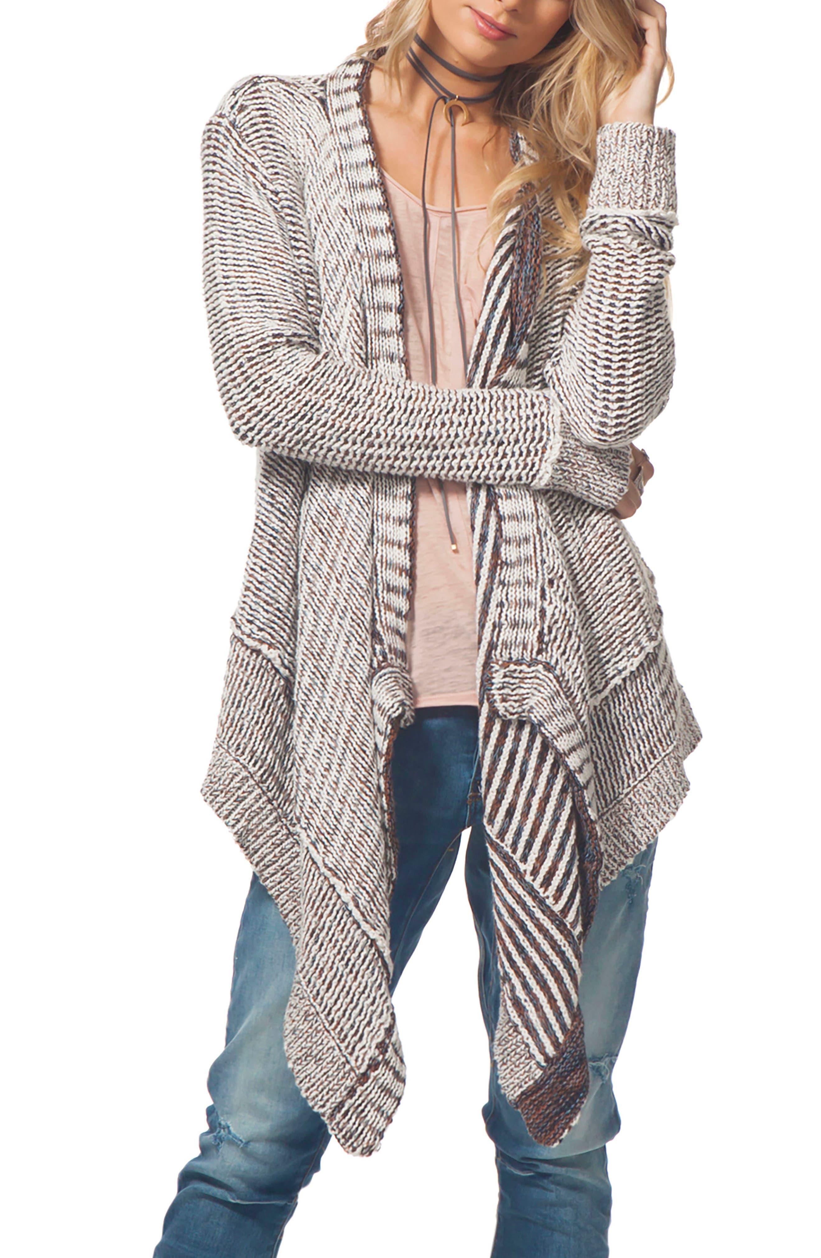Valencia Cotton Cardigan,                         Main,                         color, Vanilla