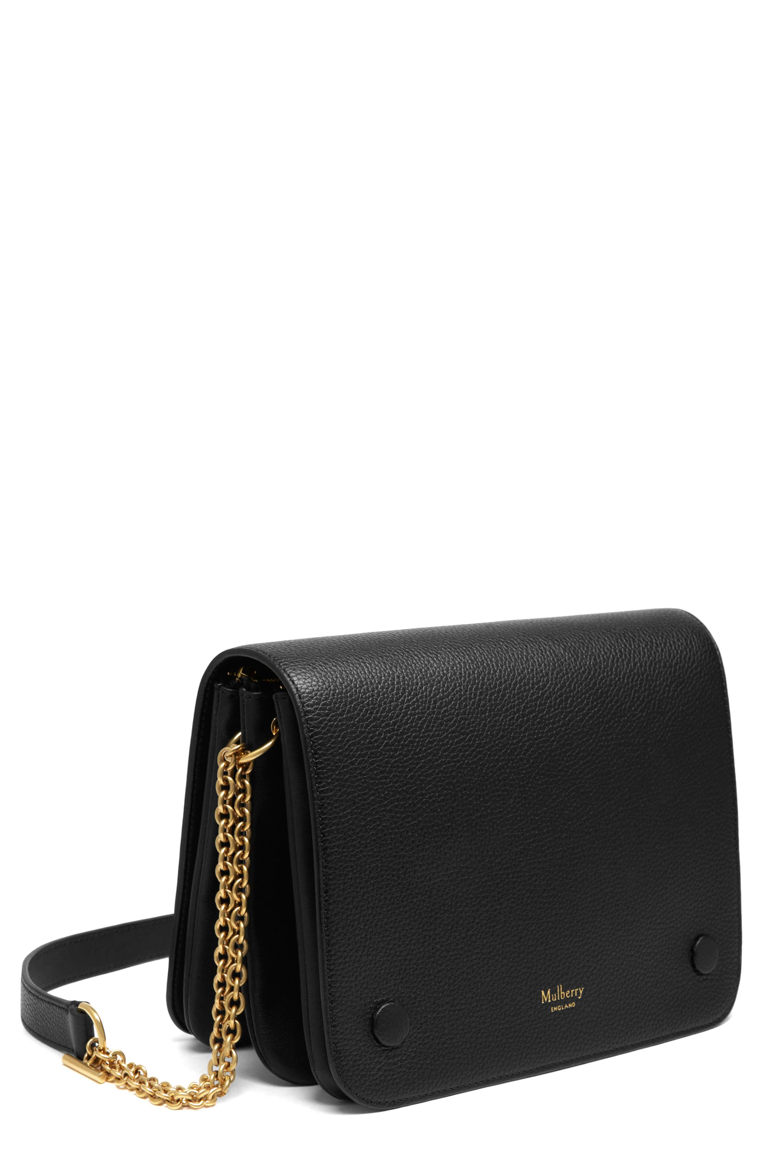 Mulberry Clifton Leather Wallet on a Chain