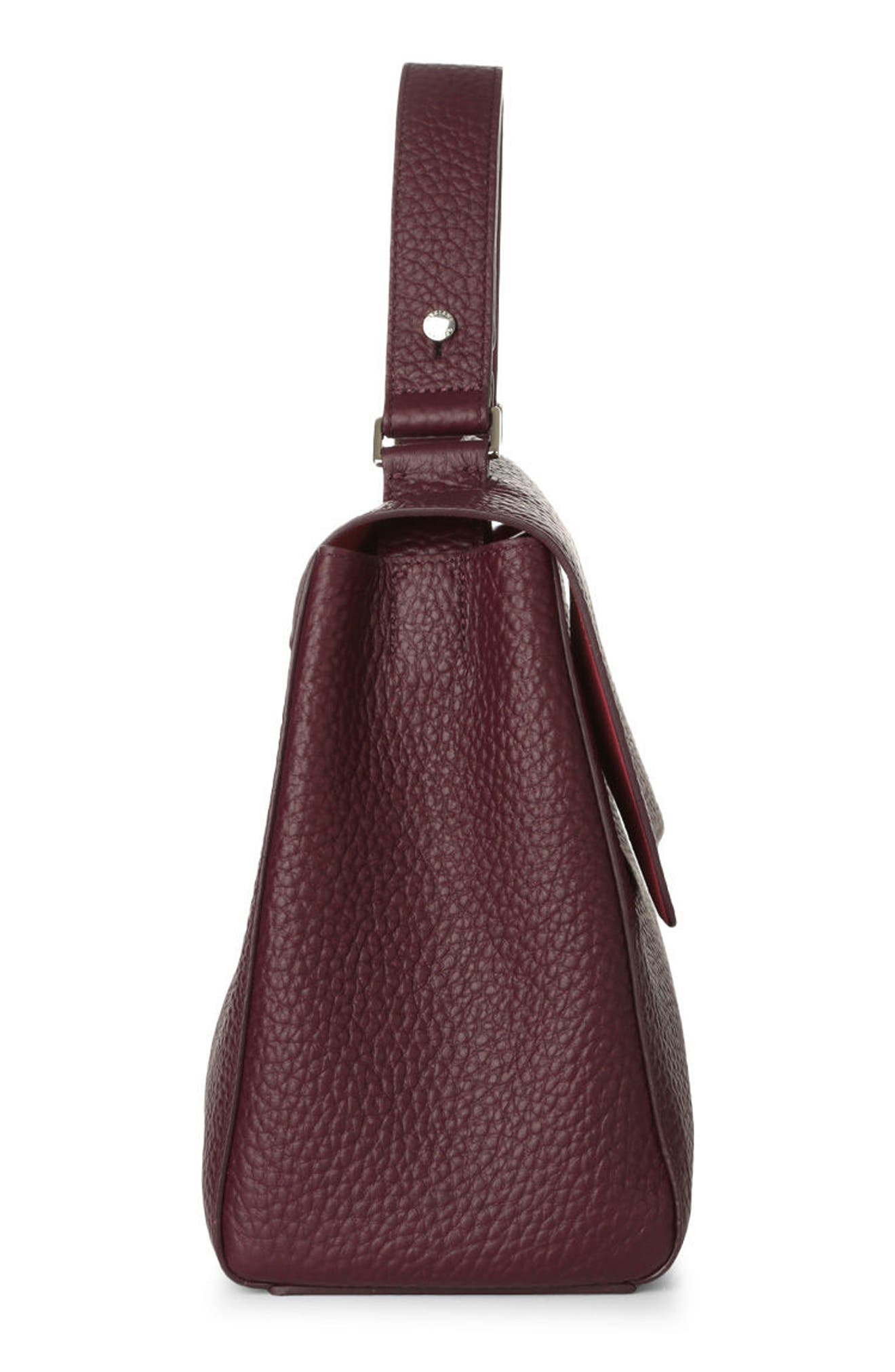 Alternate Image 4  - Orciani Medium Sveva Soft Leather Top Handle Satchel