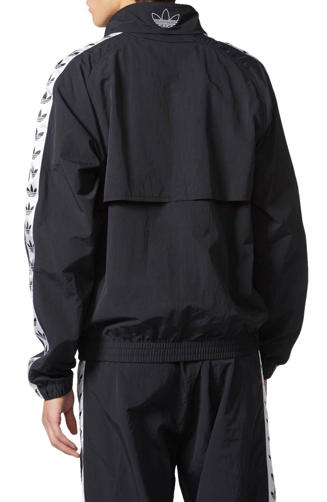 Alternate Image 2  - adidas Originals TNT Tape Wind Jacket