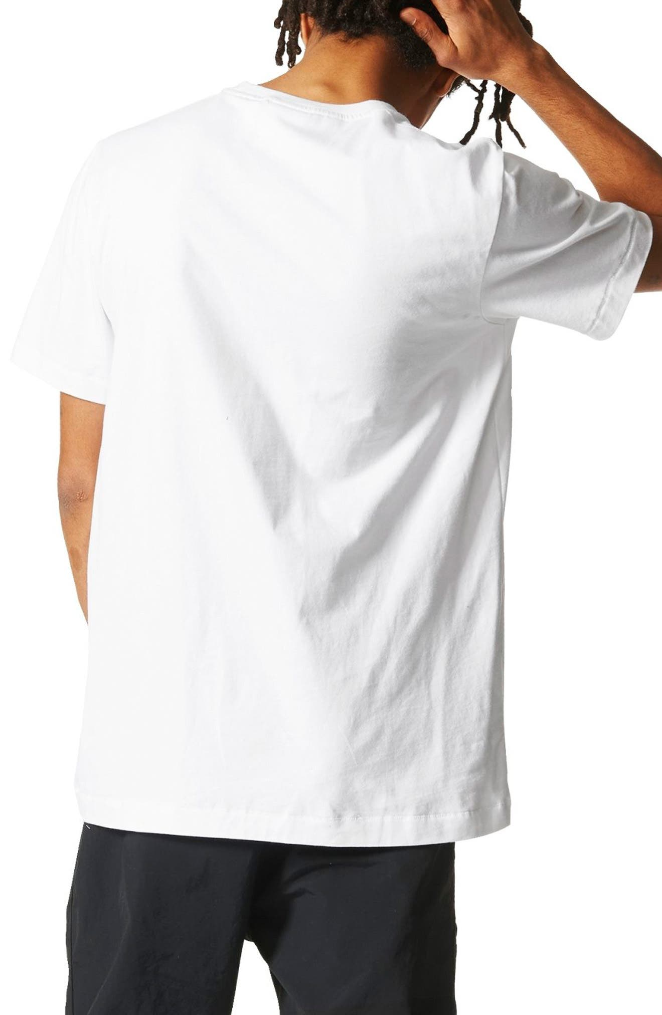 NMD T-Shirt,                             Alternate thumbnail 2, color,                             White