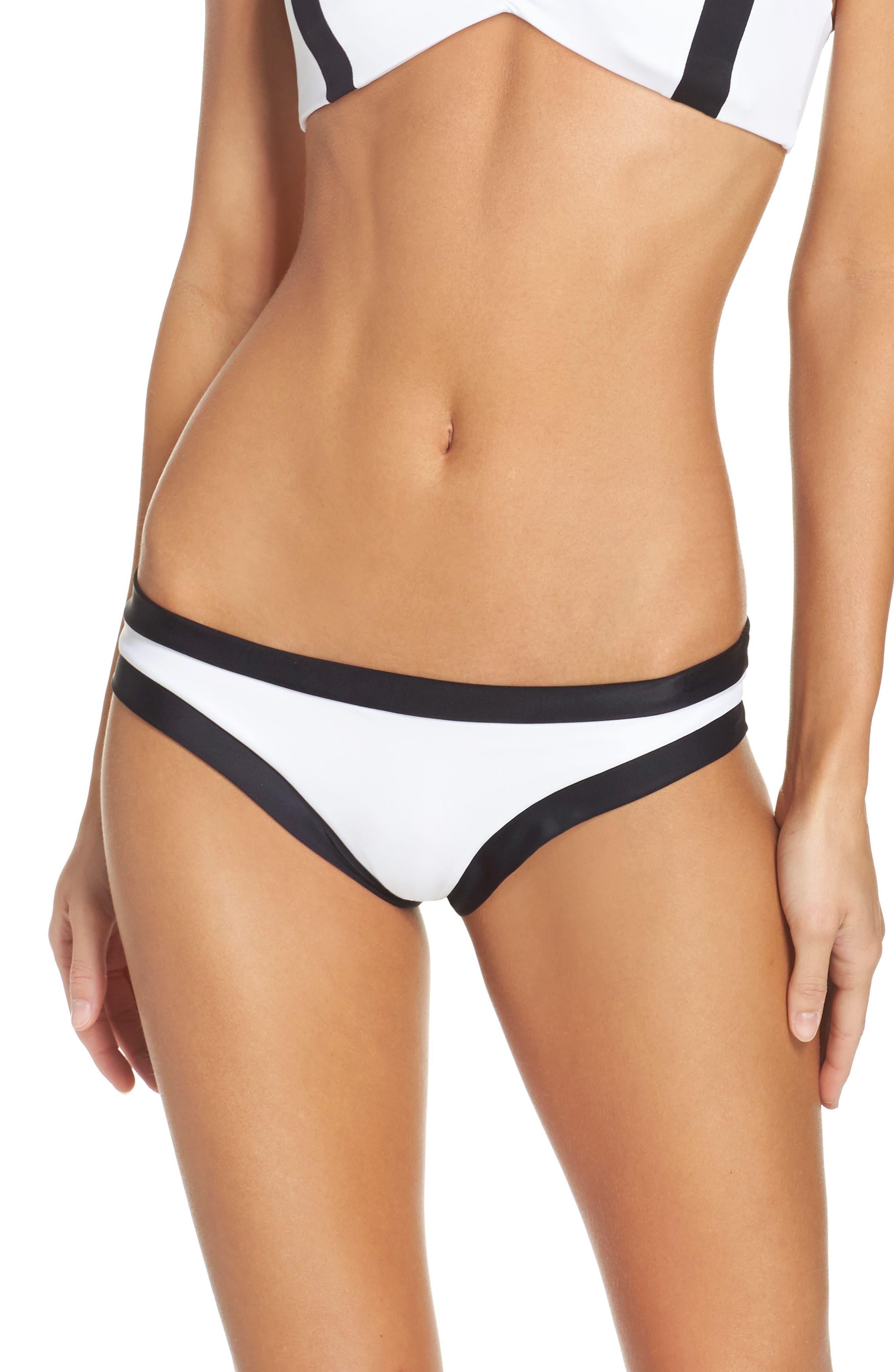 Main Image - PilyQ Sporty Teeny Bikini Bottoms