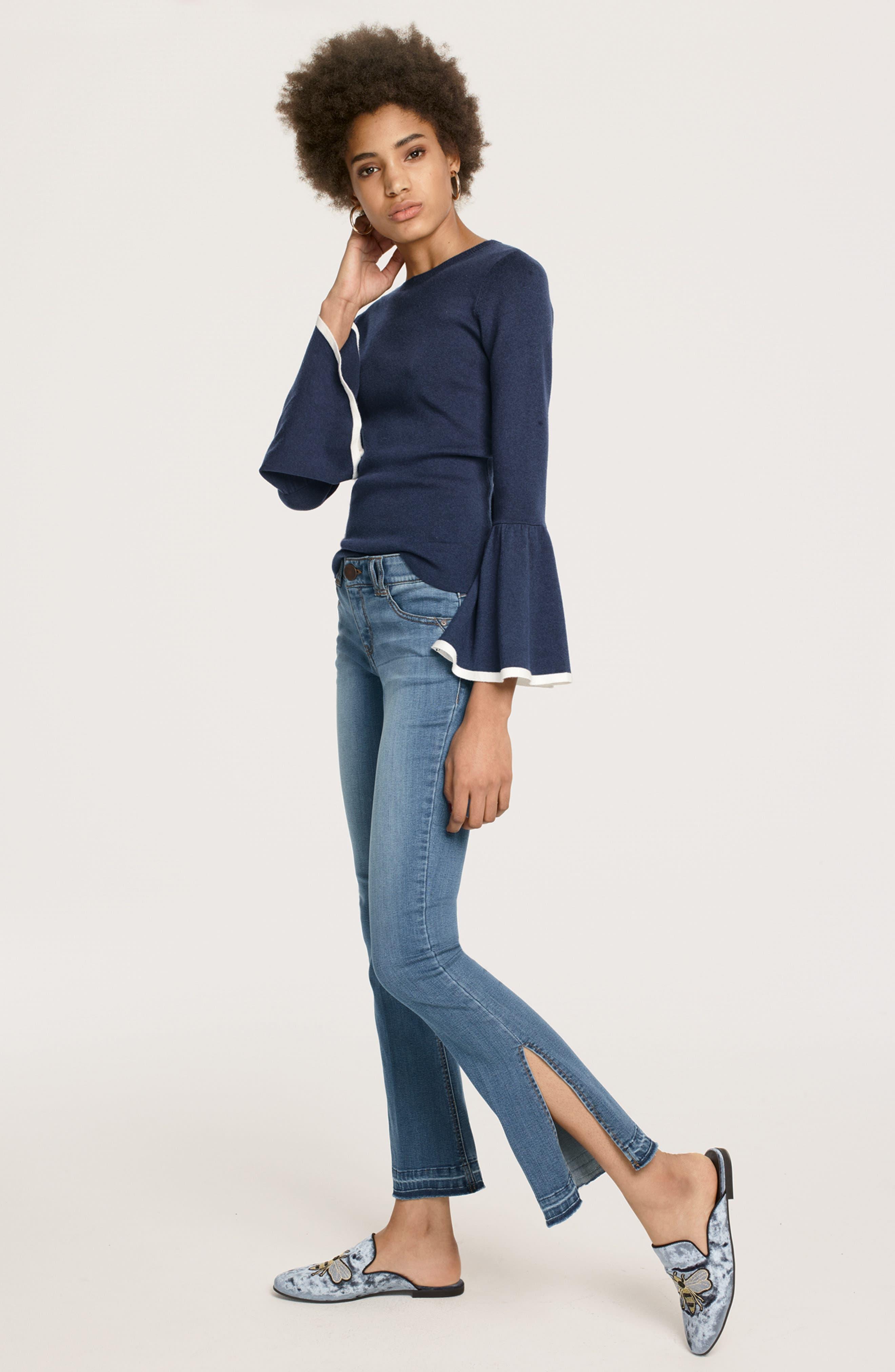 Alternate Image 6  - Wit & Wisdom Ab-solution Split Release Hem Jeans (Regular & Petite) (Nordstrom Exclusive)