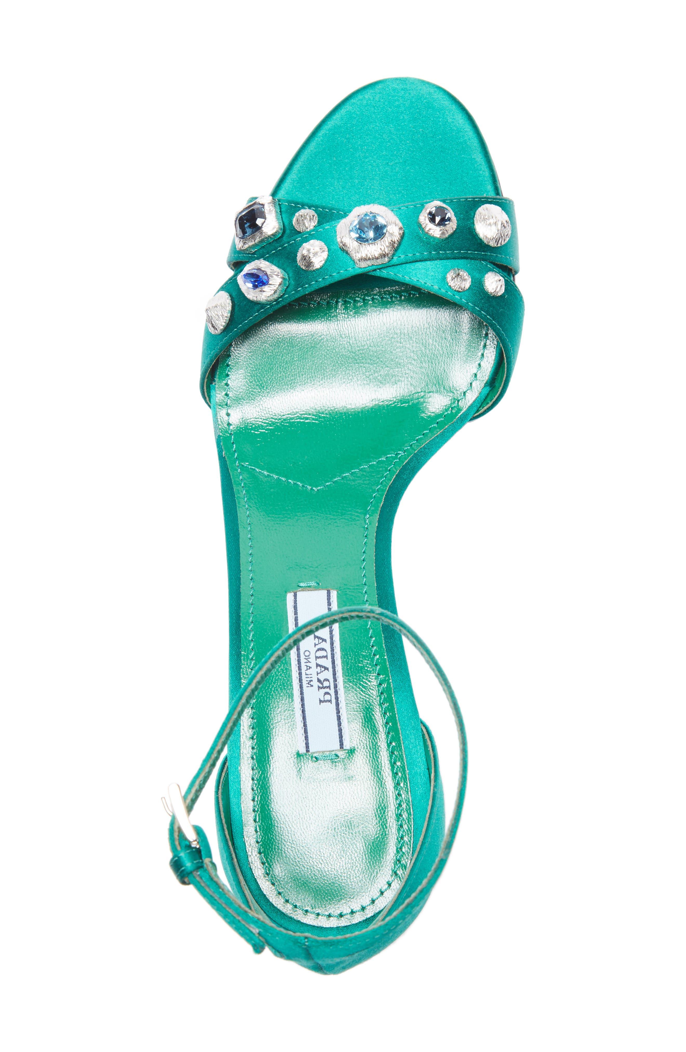 Alternate Image 3  - Prada Jewel Ankle Strap Sandal (Women)