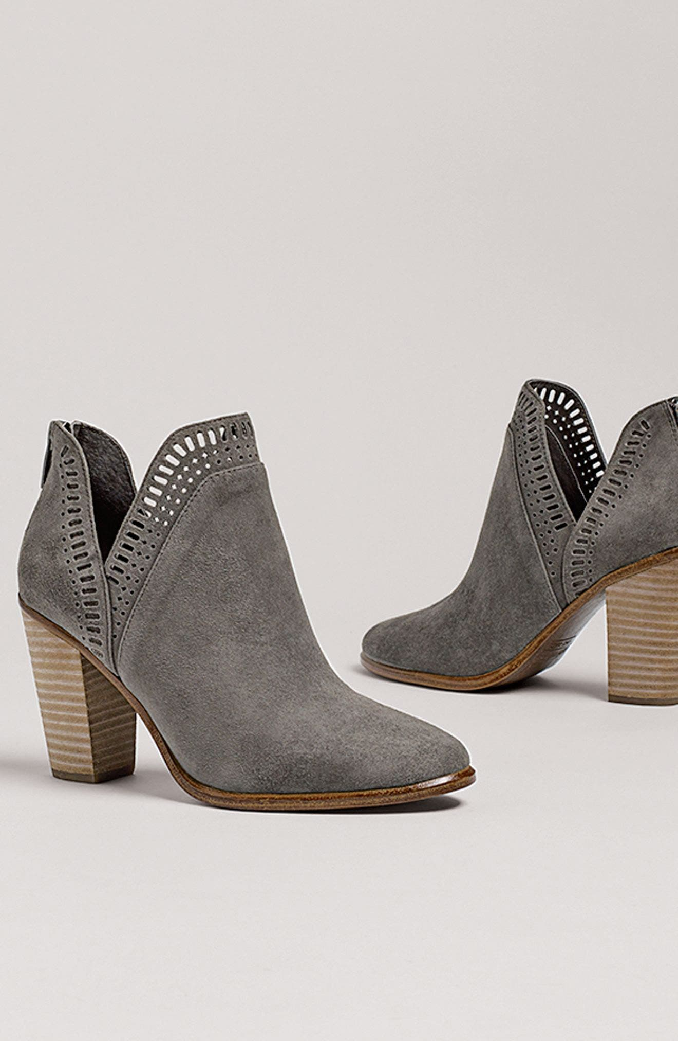 Alternate Image 7  - Vince Camuto Fileana Split Shaft Bootie (Women)