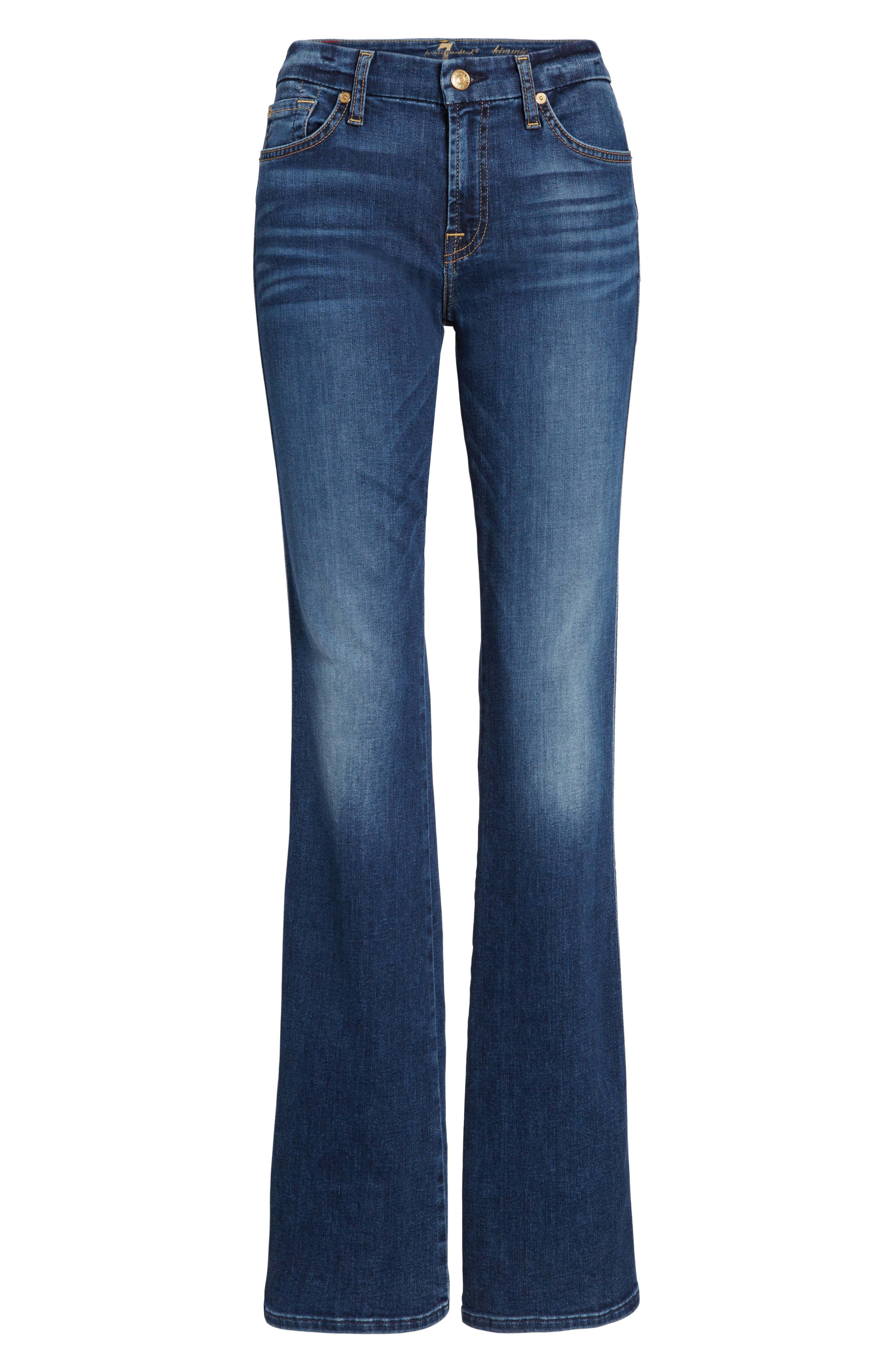 Alternate Image 6  - 7 For All Mankind® Kimmie Bootcut Jeans (Stunning Bleeker)