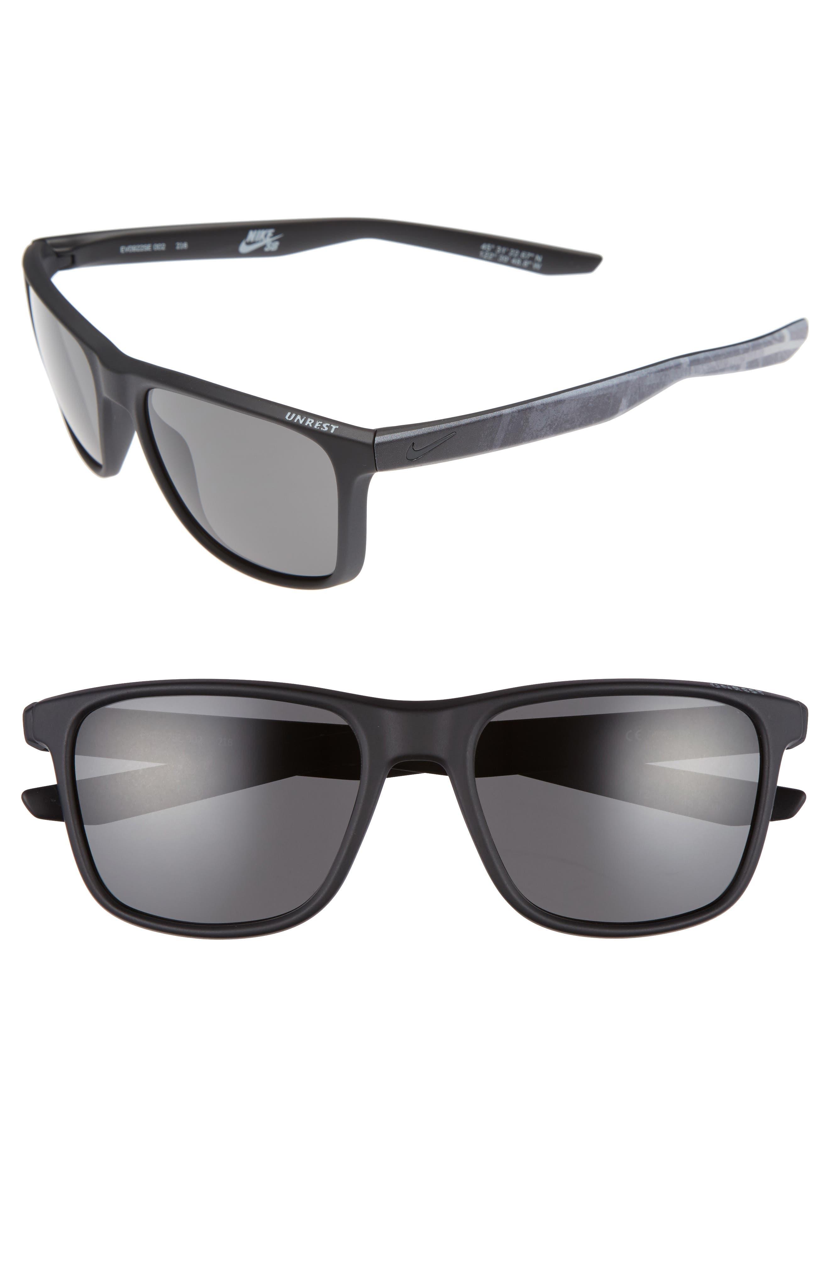 Nike Unrest SE 57mm Sunglasses