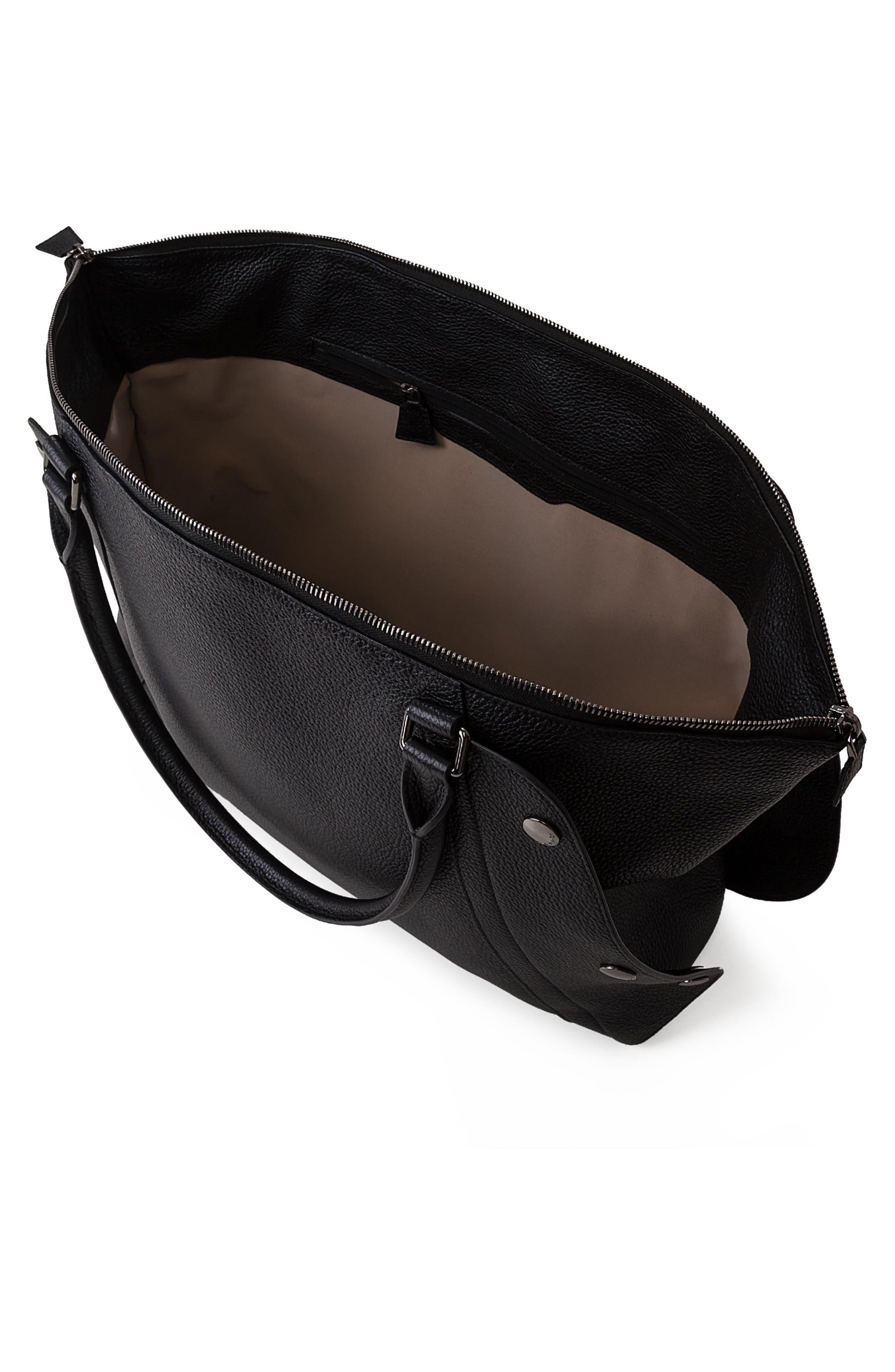 Alternate Image 3  - Akris Small Aimee Leather Satchel