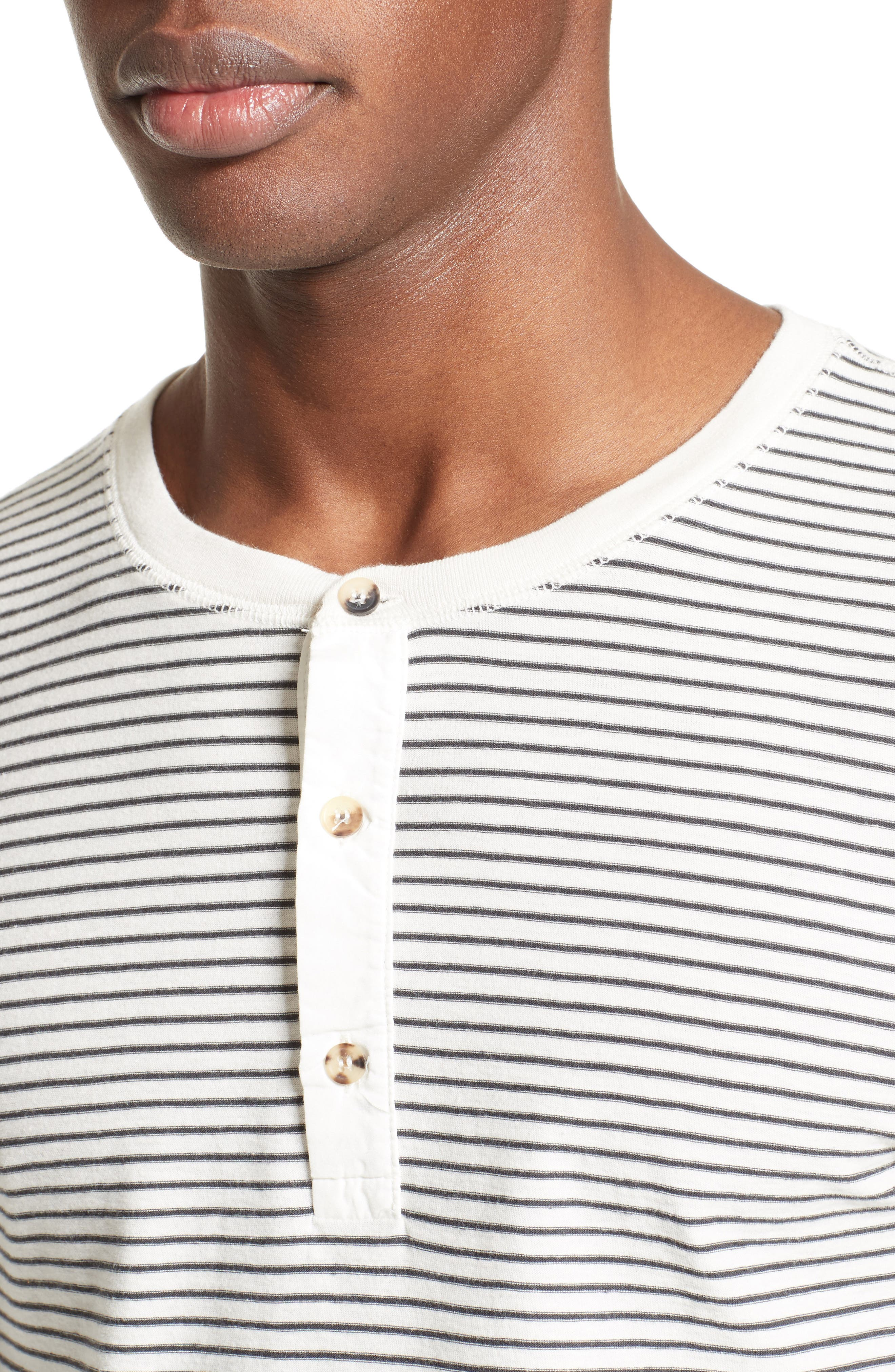 Alternate Image 4  - Levi's® Made & Crafted™ Stripe Henley