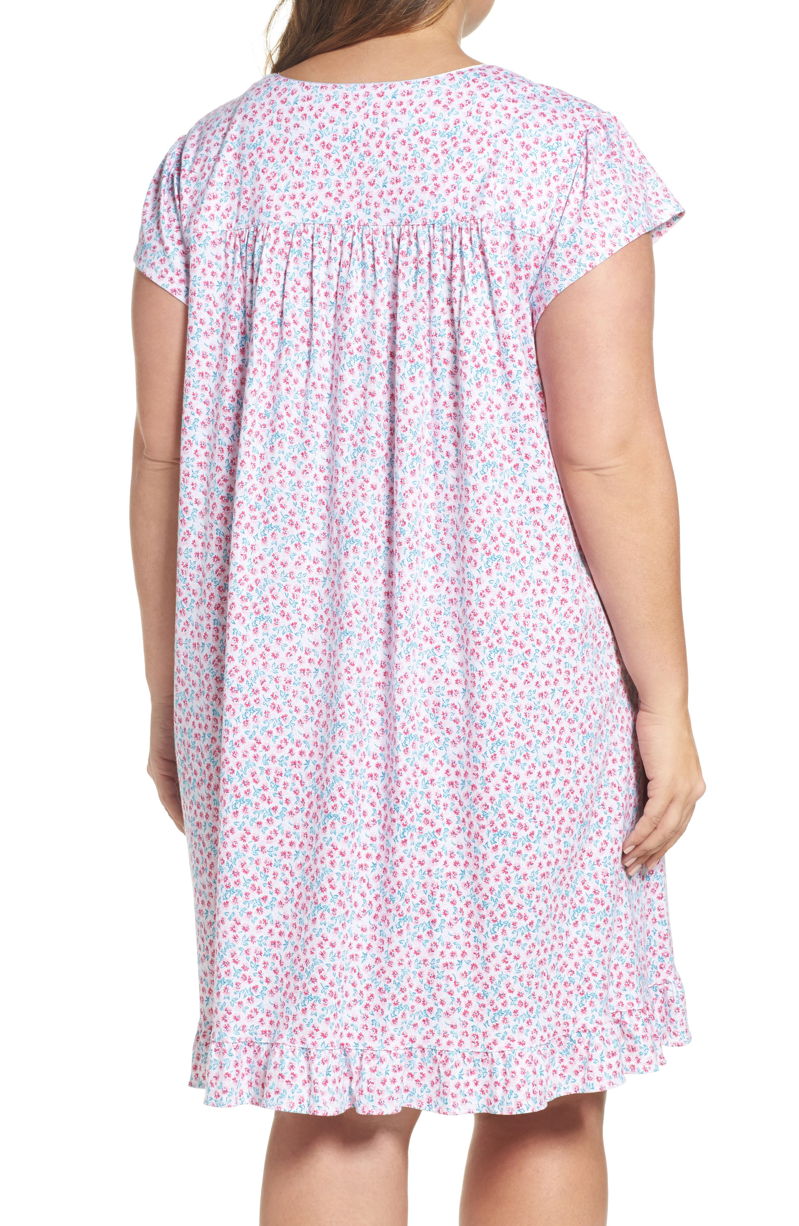 Short Nightgown,                             Alternate thumbnail 2, color,                             Pink