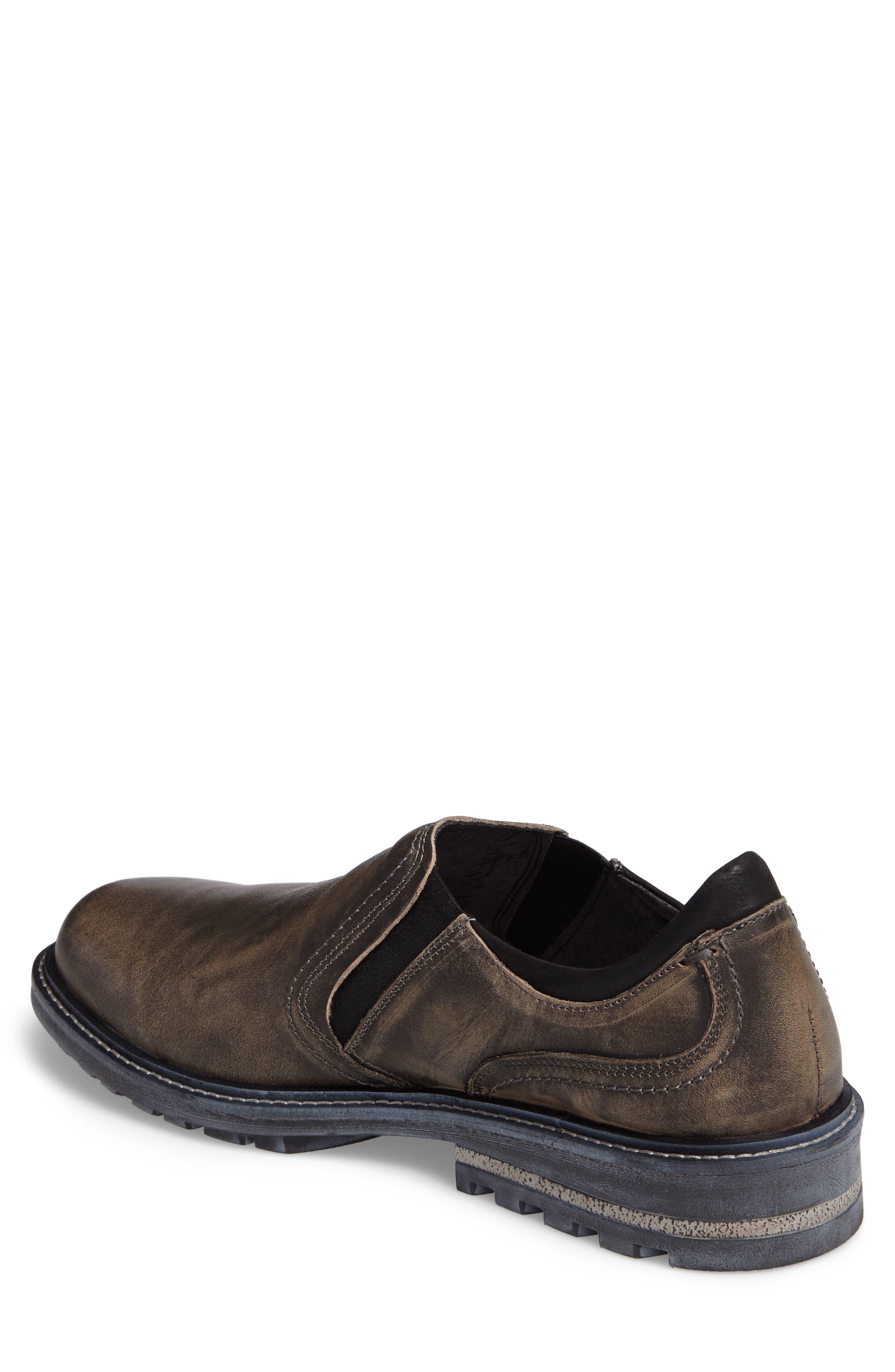 Manyara Slip-On Loafer,                             Alternate thumbnail 2, color,                             Vintage Grey Leather