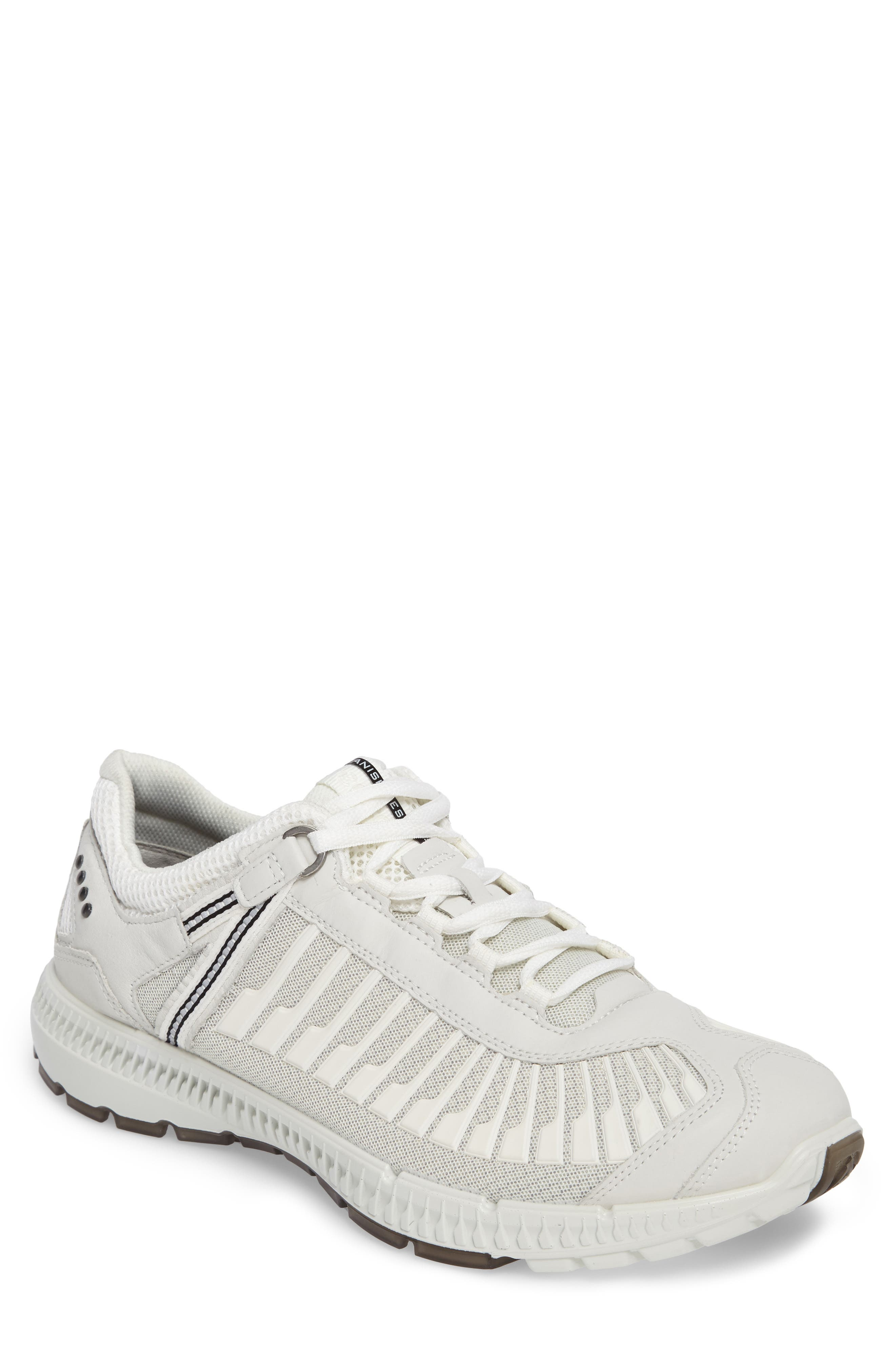 Intrinsic TR Run Sneaker,                             Main thumbnail 1, color,                             White Leather