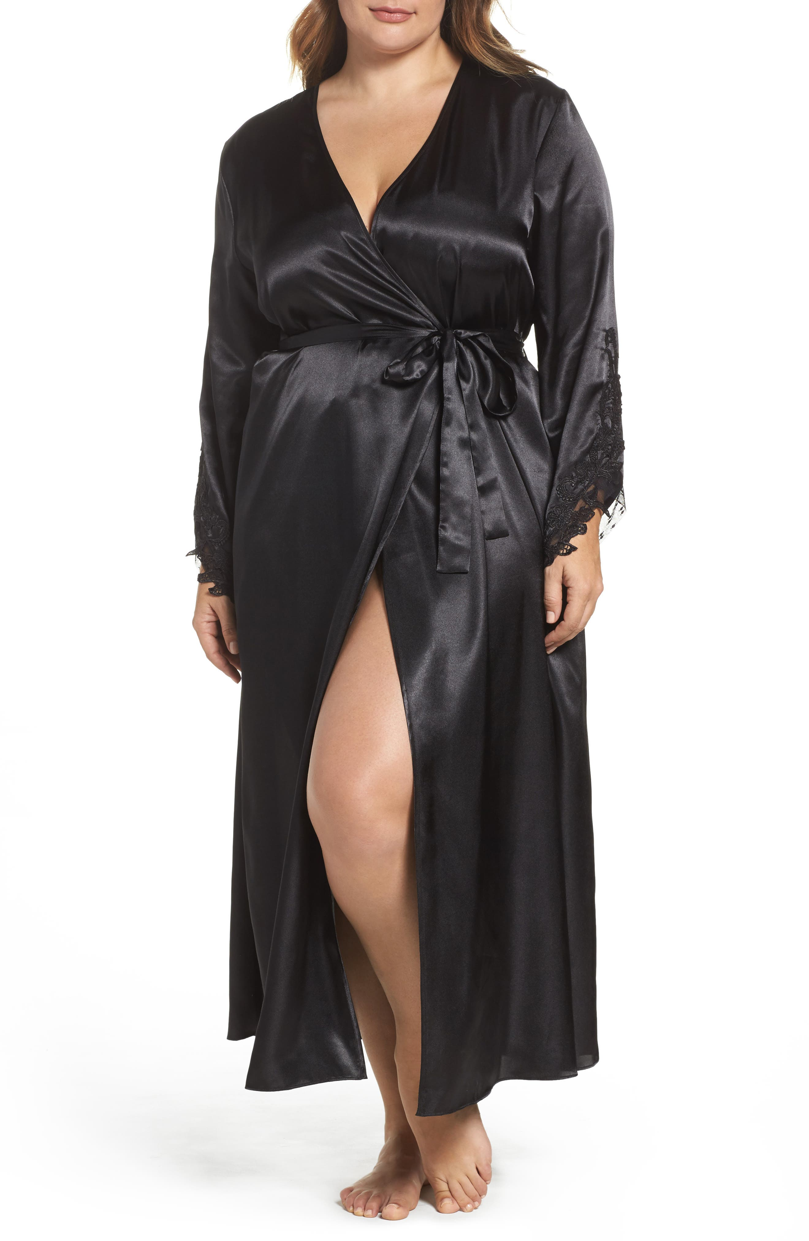 Alternate Image 1 Selected - Flora by Flora Nikrooz Stella Robe (Plus Size)