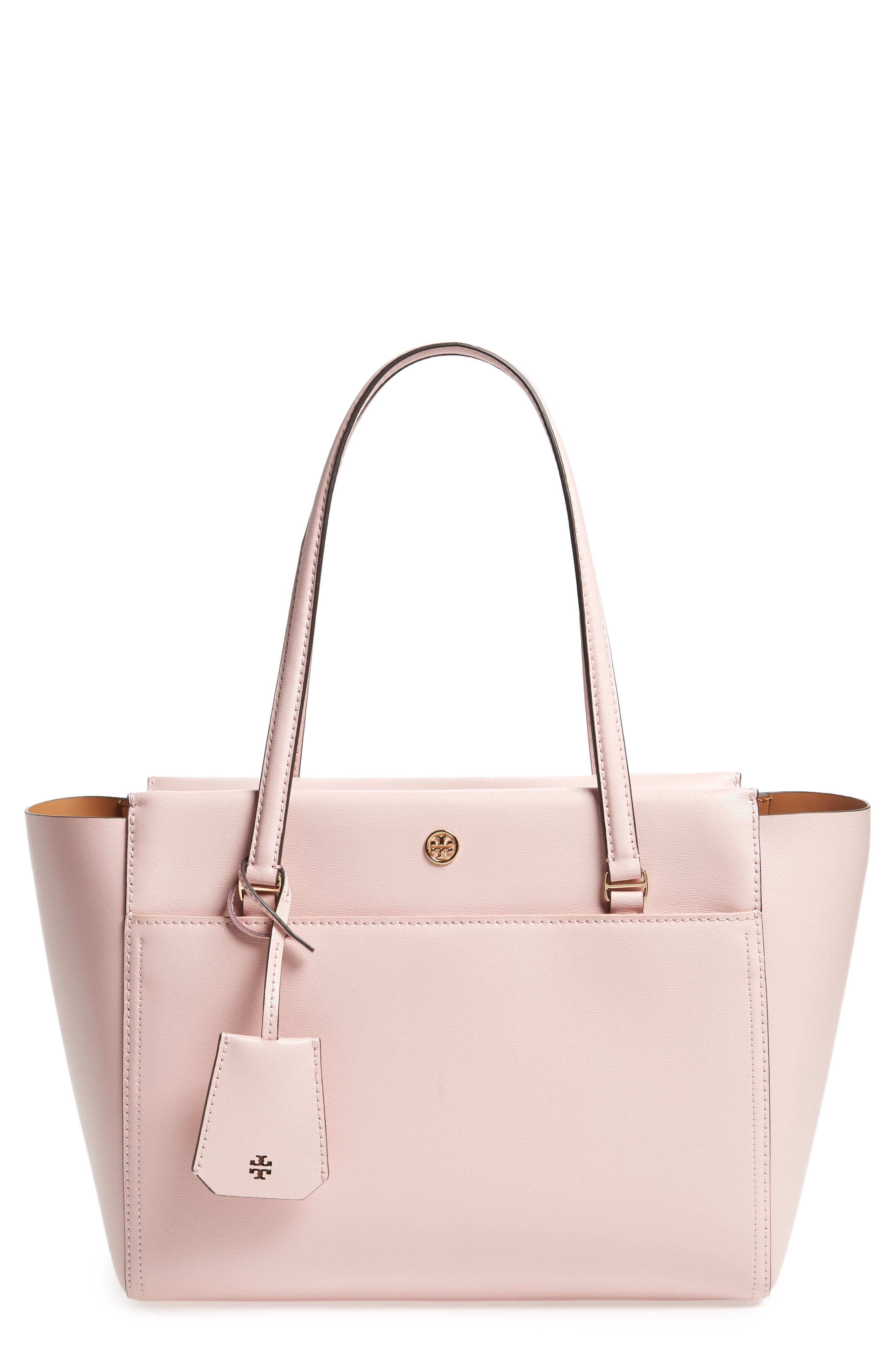 Main Image - Tory Burch Small Parker Leather Tote
