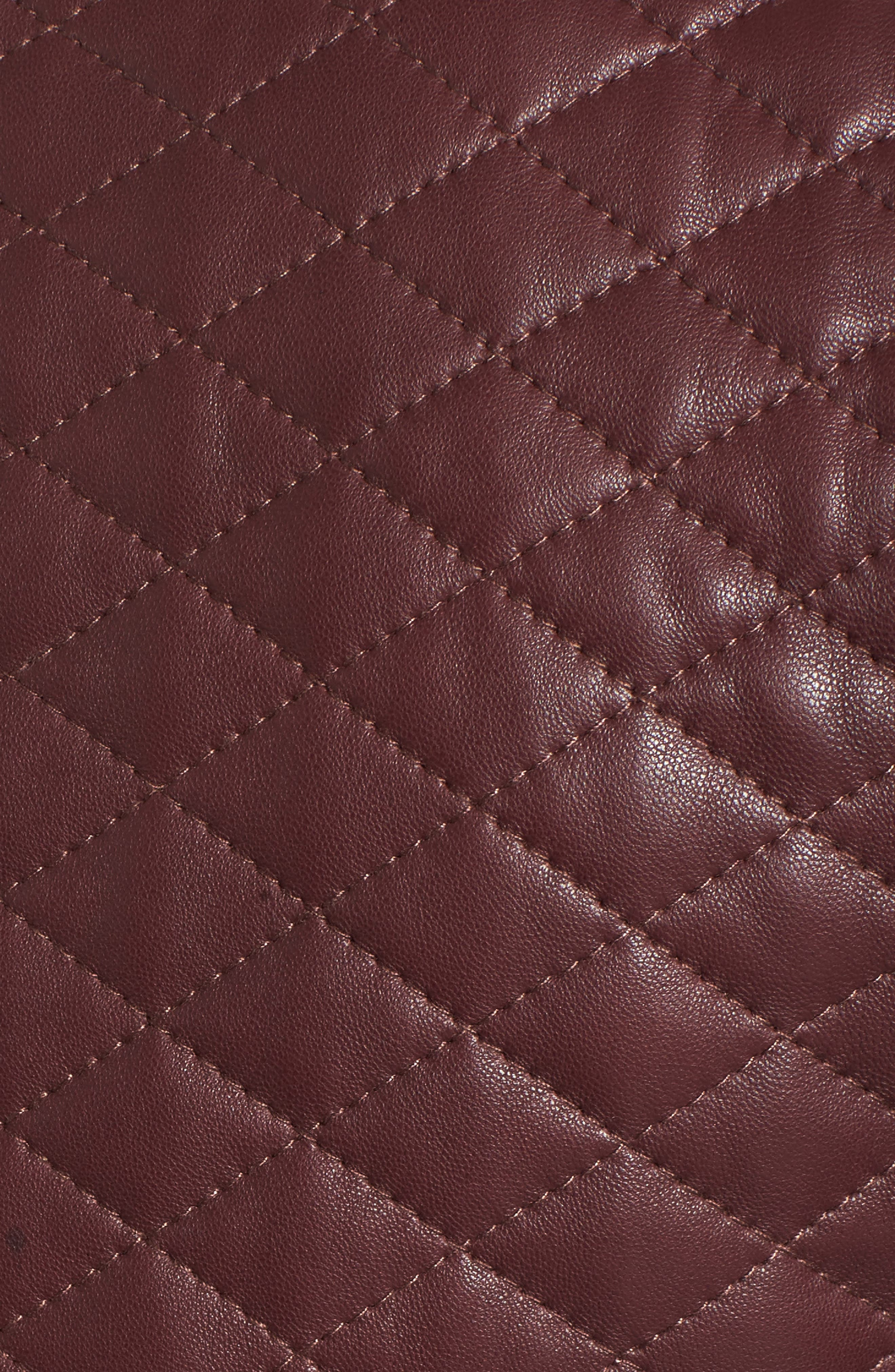 Alternate Image 5  - Cole Haan Quilted Leather Moto Jacket