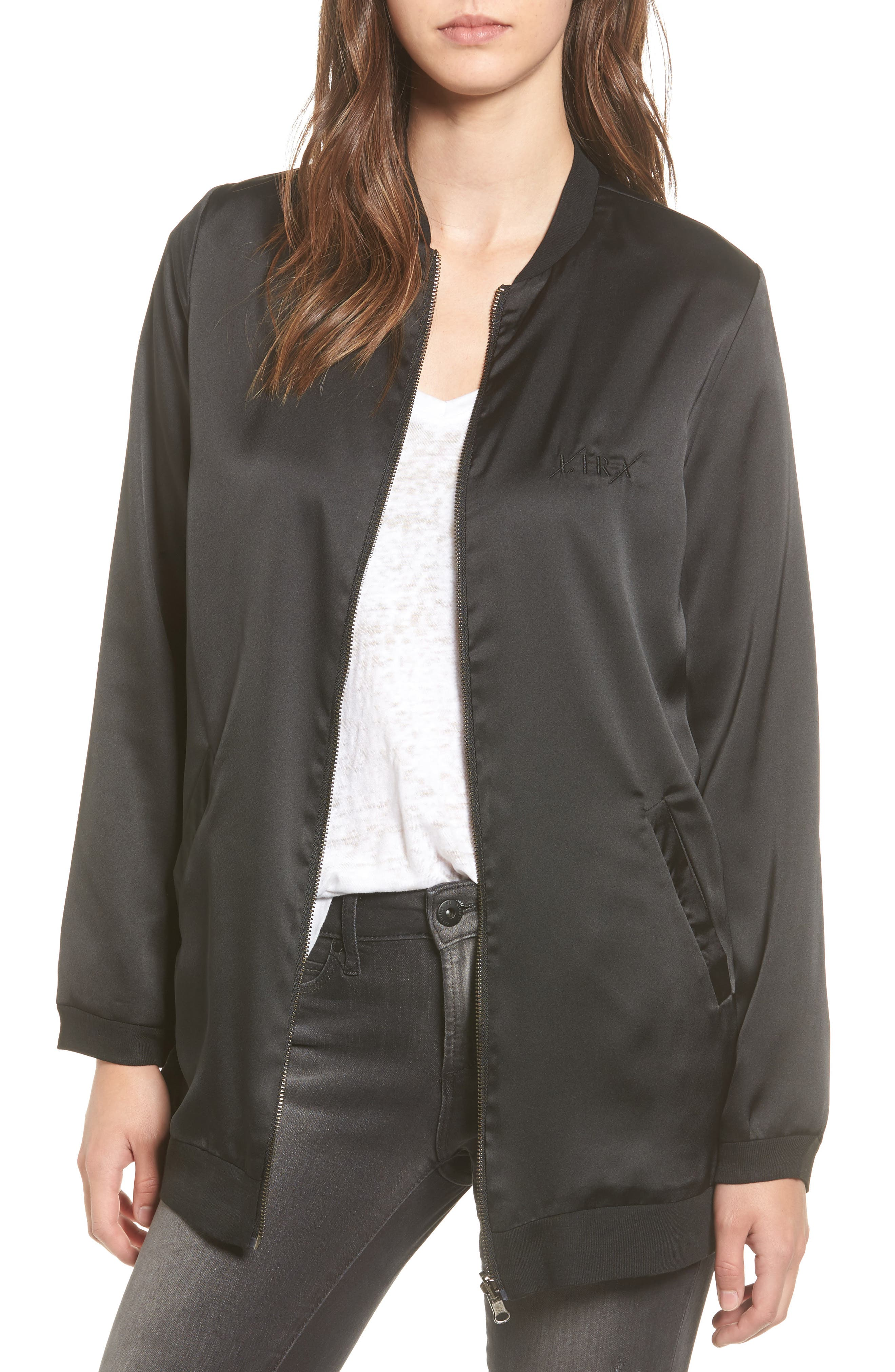 Lira Clothing Speakeasy Reversible Bomber