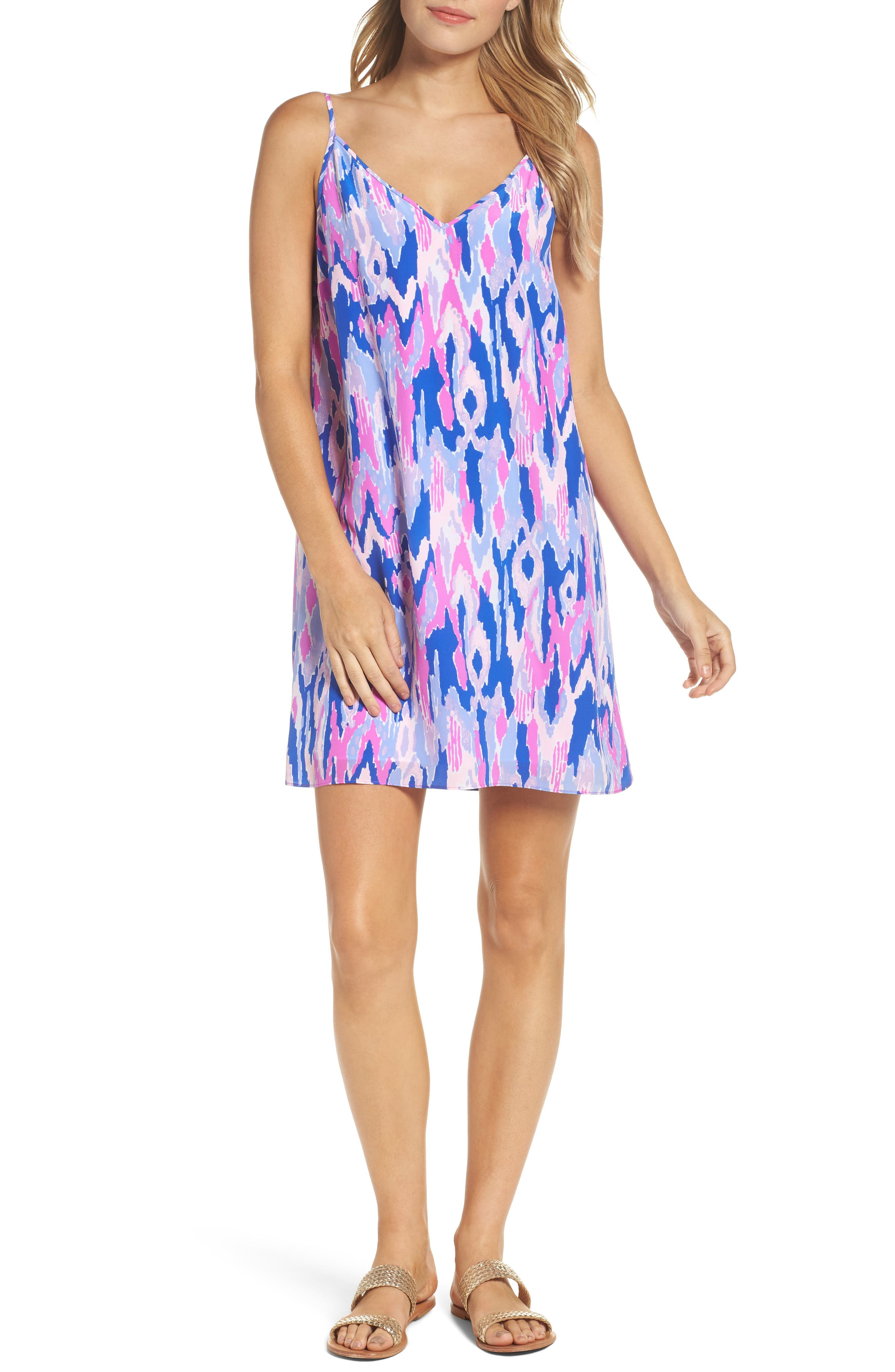 Lilly Pulitzer® Lela Silk Slipdress