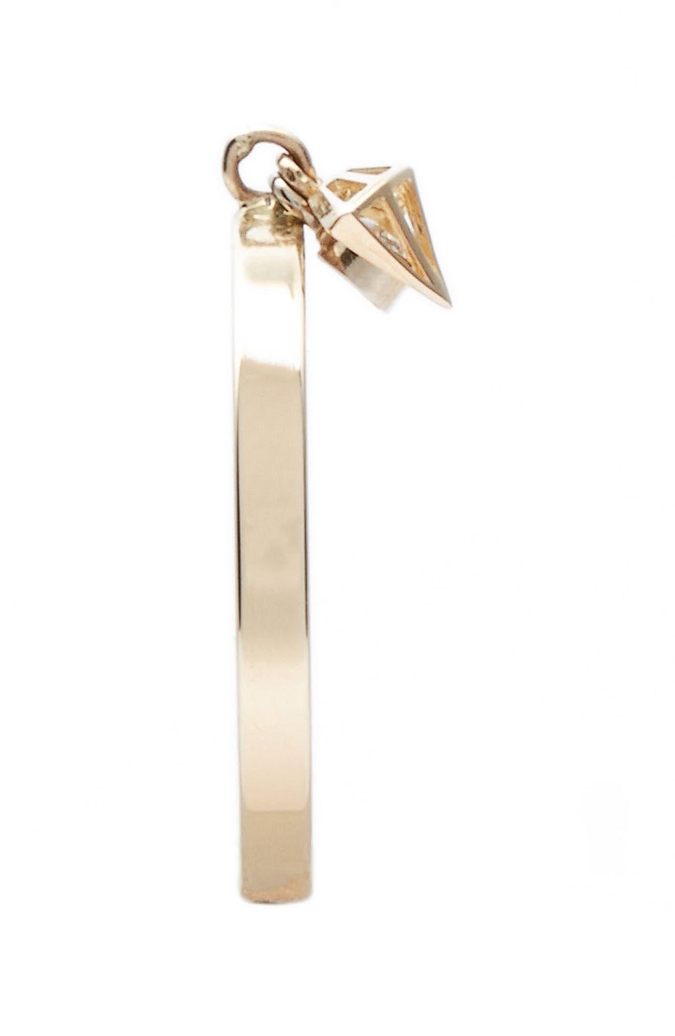 Alternate Image 2  - Poppy Finch Hidden Diamond Dangle Ring