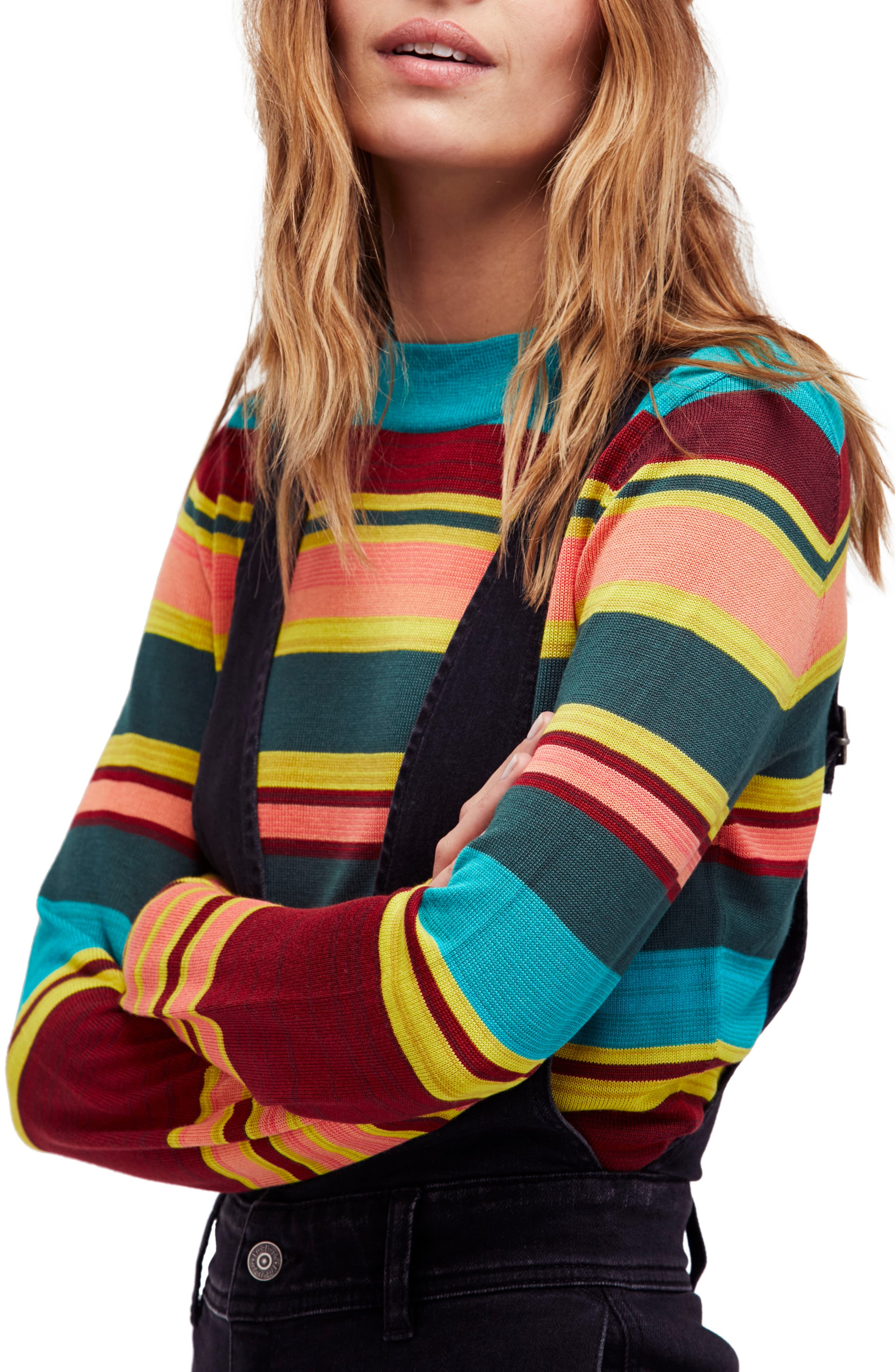 Free People Show Off Your Stripes Sweater