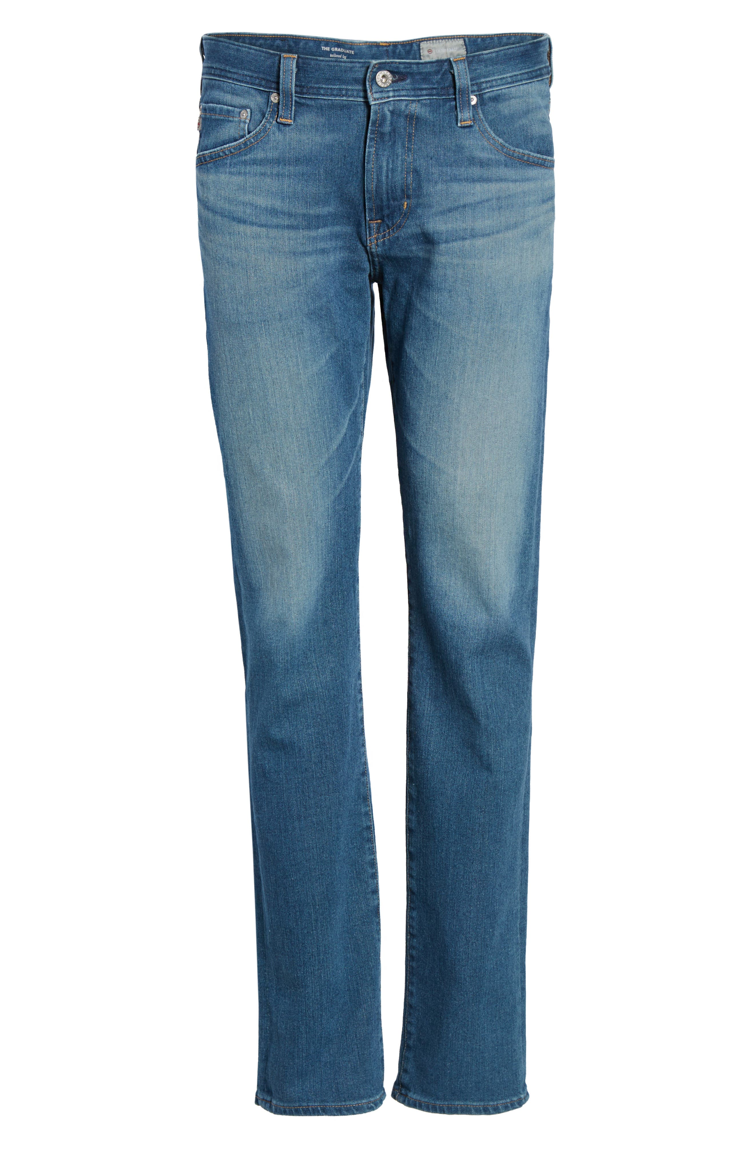 Graduate Slim Straight Fit Jeans,                             Alternate thumbnail 6, color,                             Typewriter