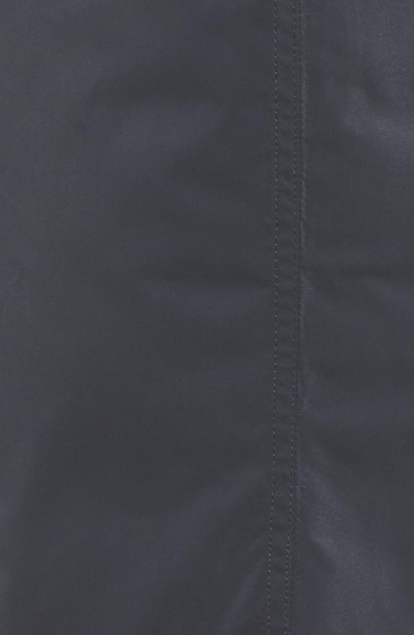 Raincoat with Detachable Hood,                             Alternate thumbnail 5, color,                             Navy