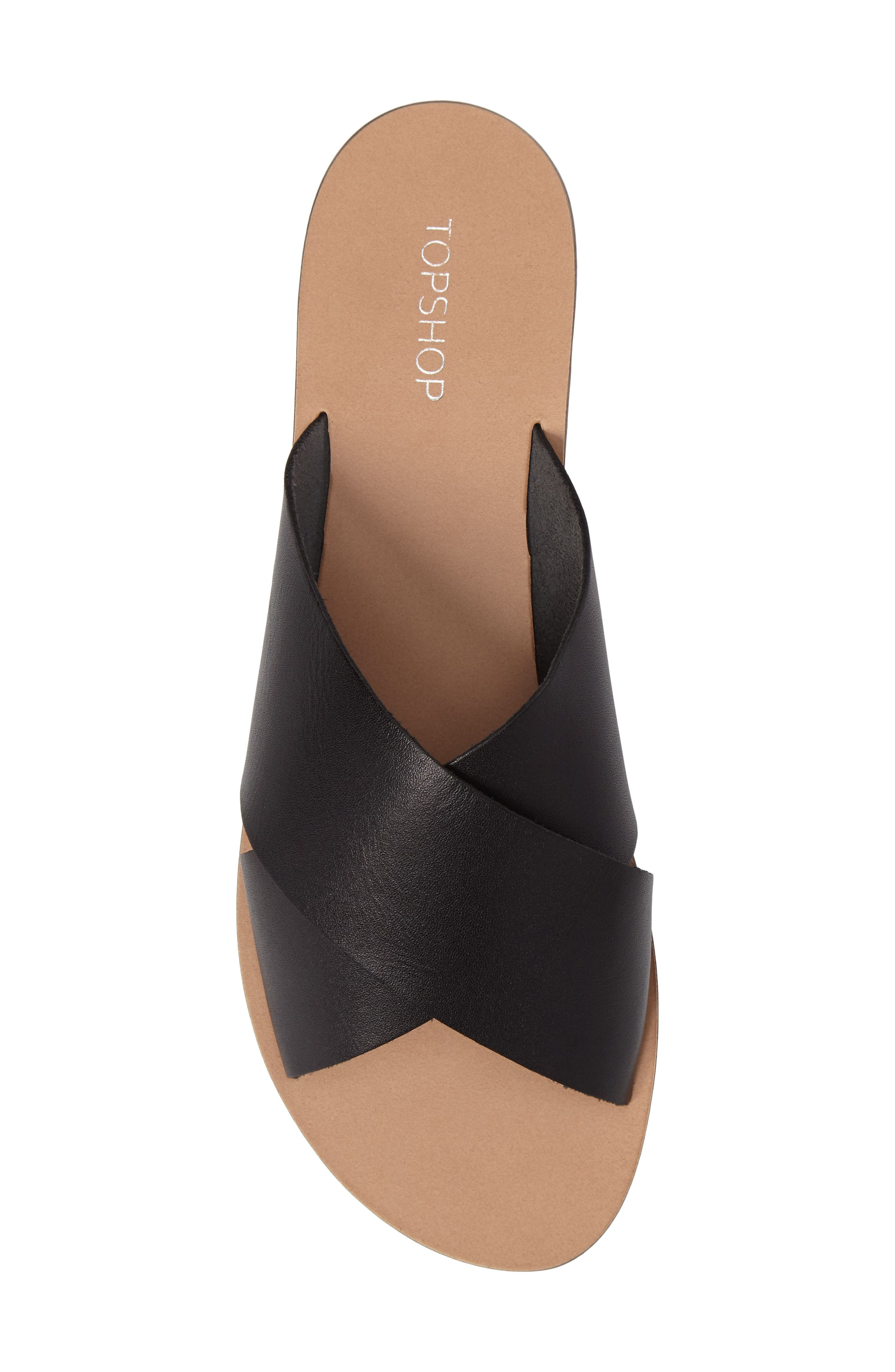Alternate Image 5  - Topshop Holiday Cross Strap Sandal (Women)