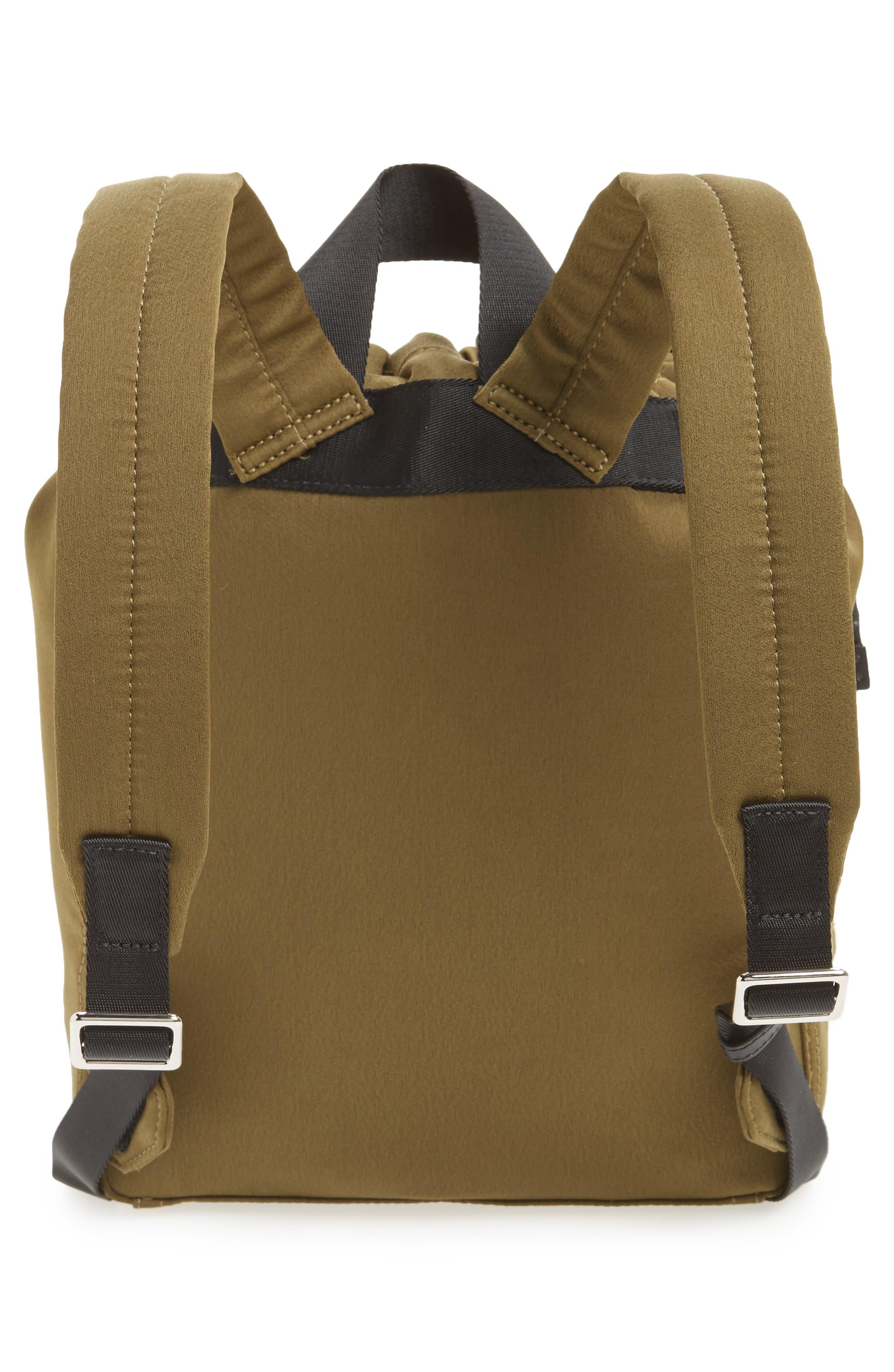 Phillip Lim 3.1 Medium Go-Go Embellished Backpack,                             Alternate thumbnail 3, color,                             Moss