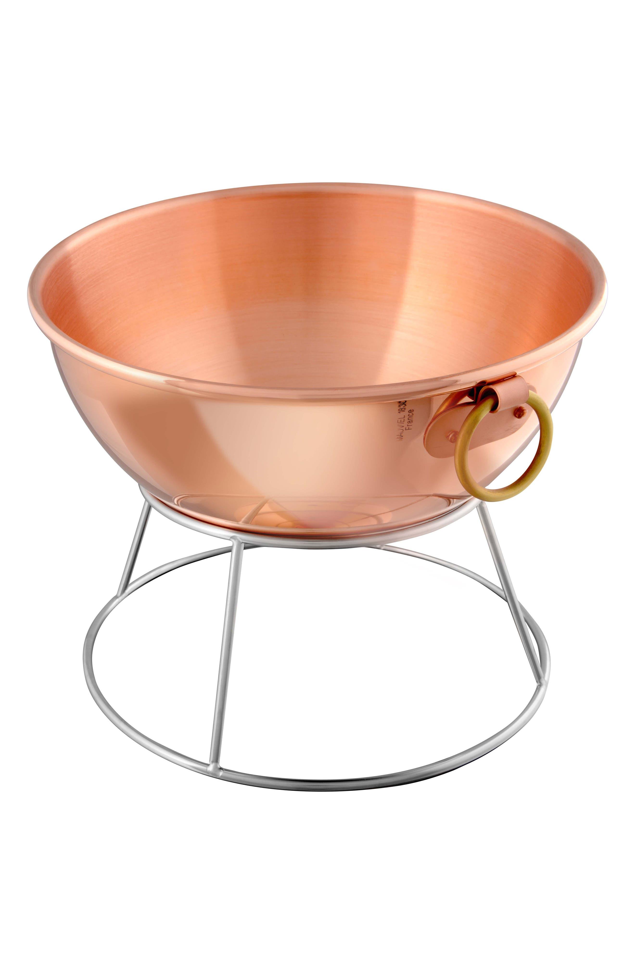 M'passion Copper Egg White Beating Bowl,                         Main,                         color, Copper