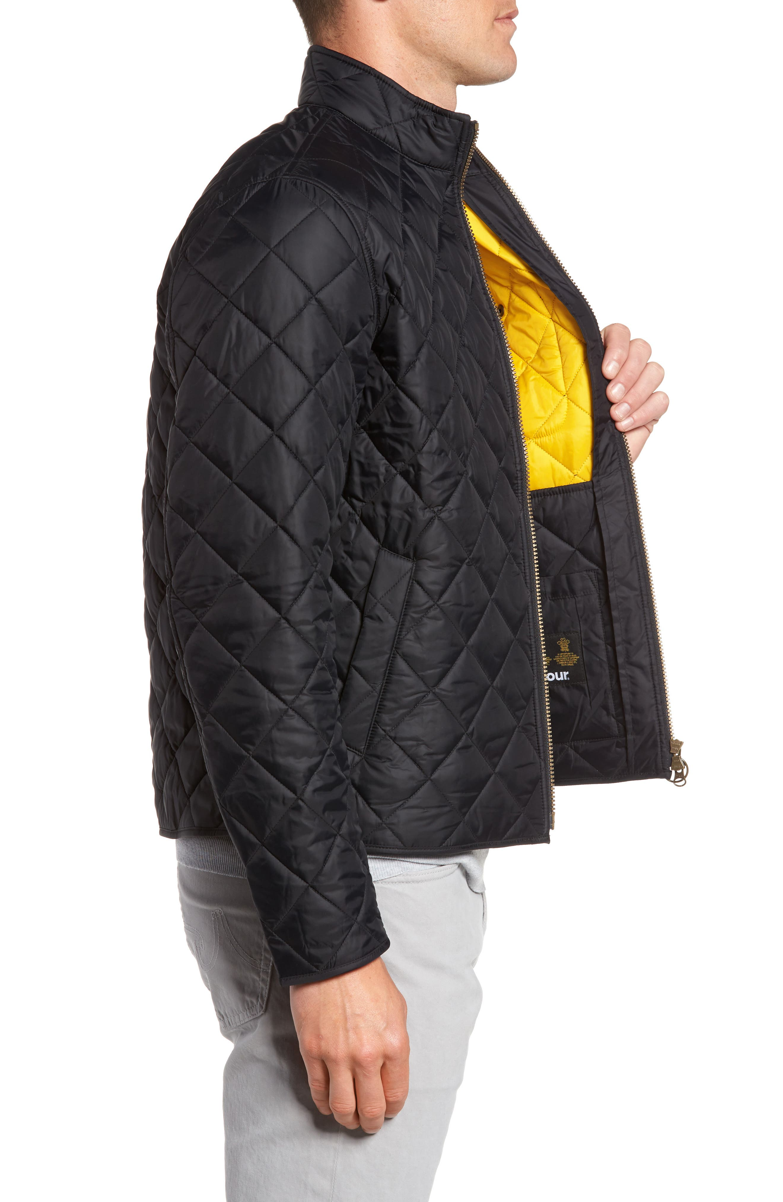 Alternate Image 3  - Barbour Pod Slim Fit Water Resistant Quilted Jacket