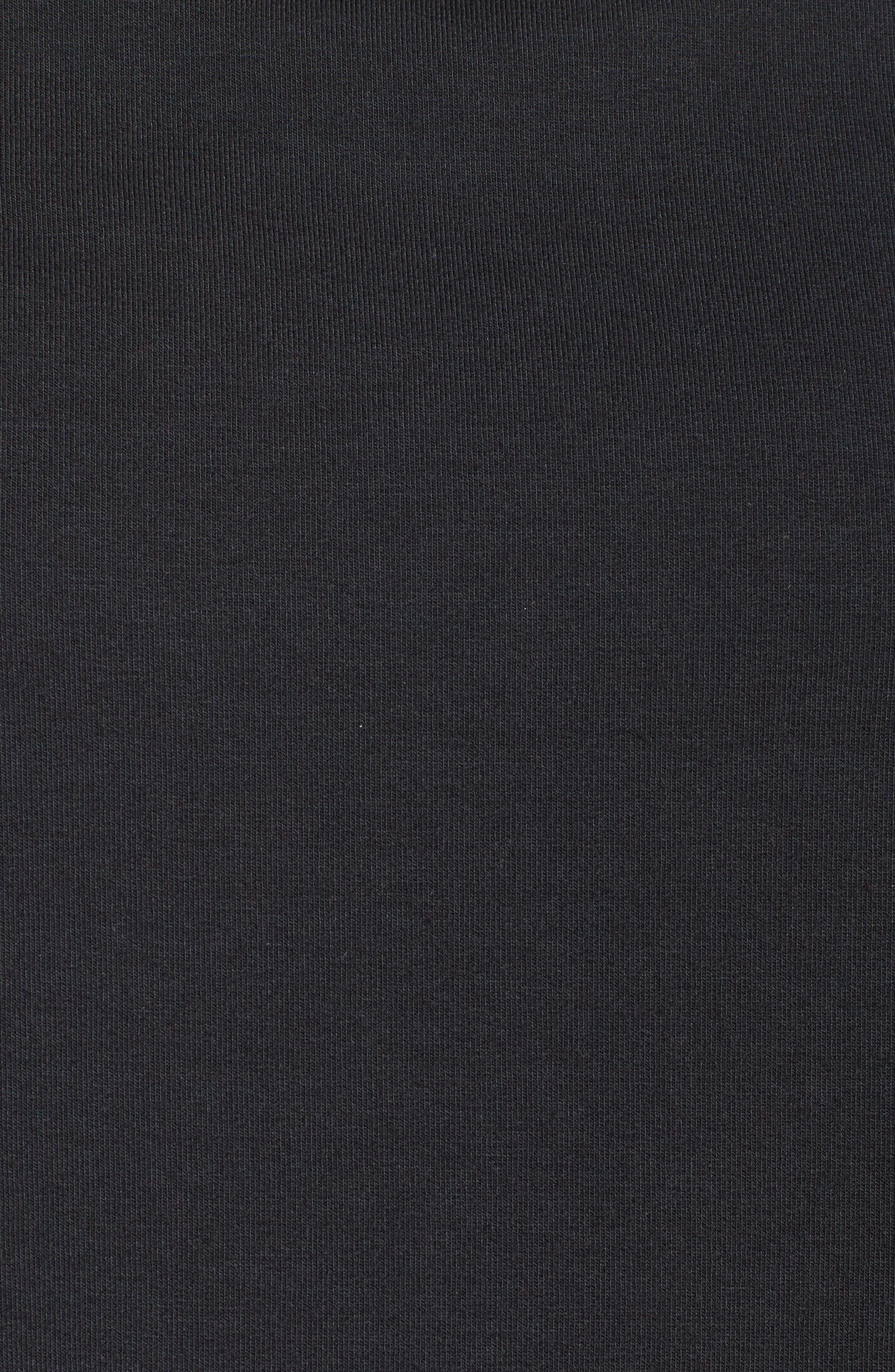 Uplift Modal Blend Top,                             Alternate thumbnail 6, color,                             Black
