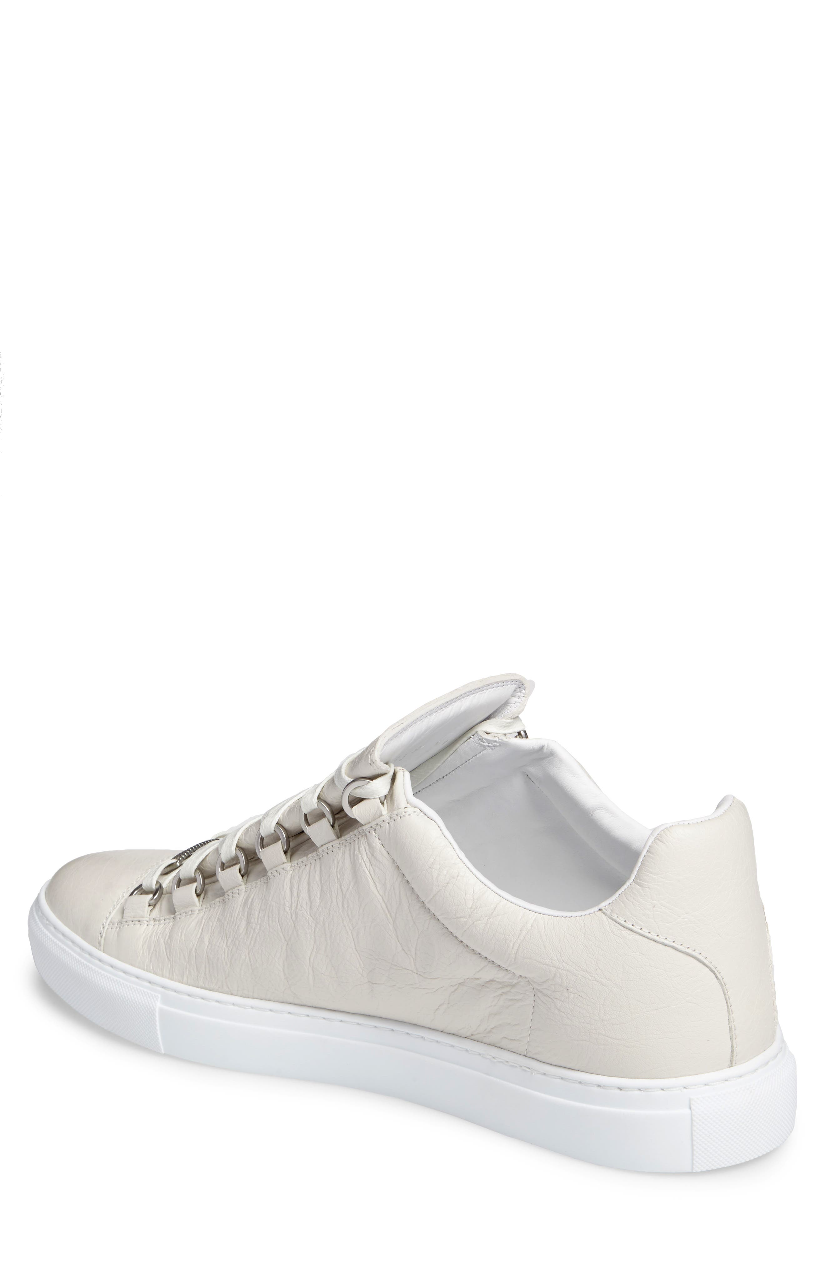 Arena Low Sneaker,                             Alternate thumbnail 2, color,                             Extra Blanc Leather