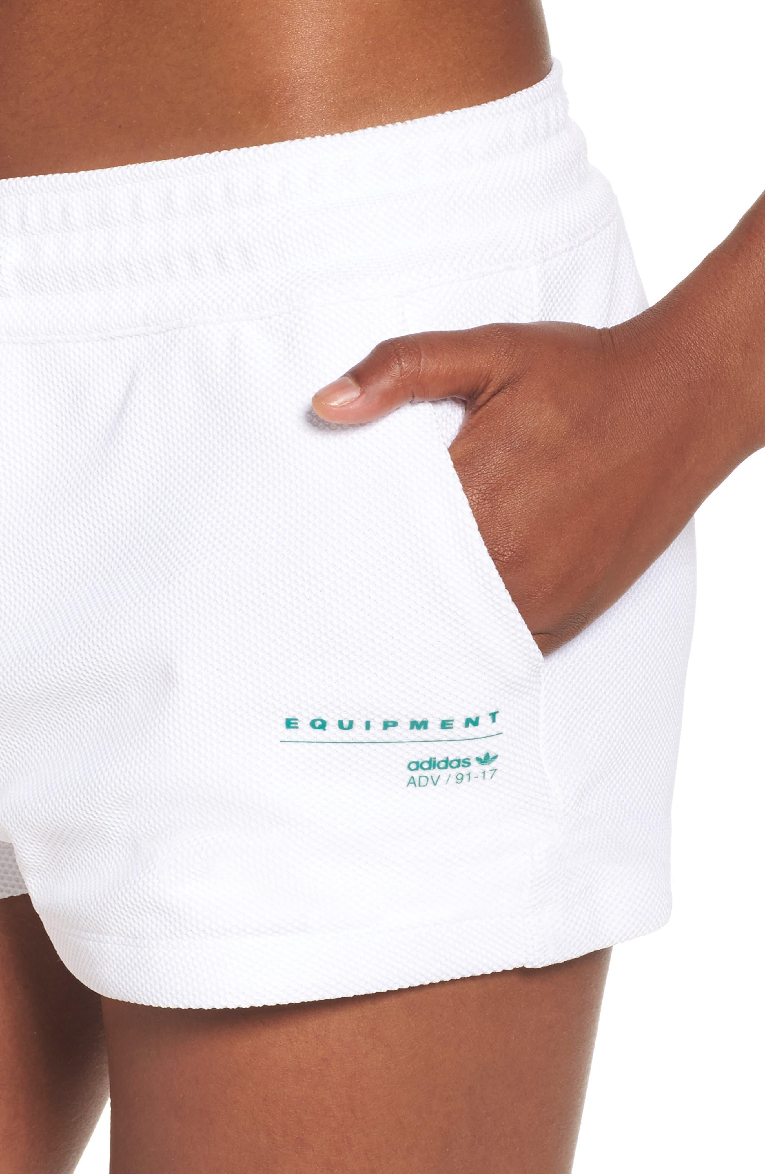 Alternate Image 4  - adidas Originals EQT Piqué Shorts