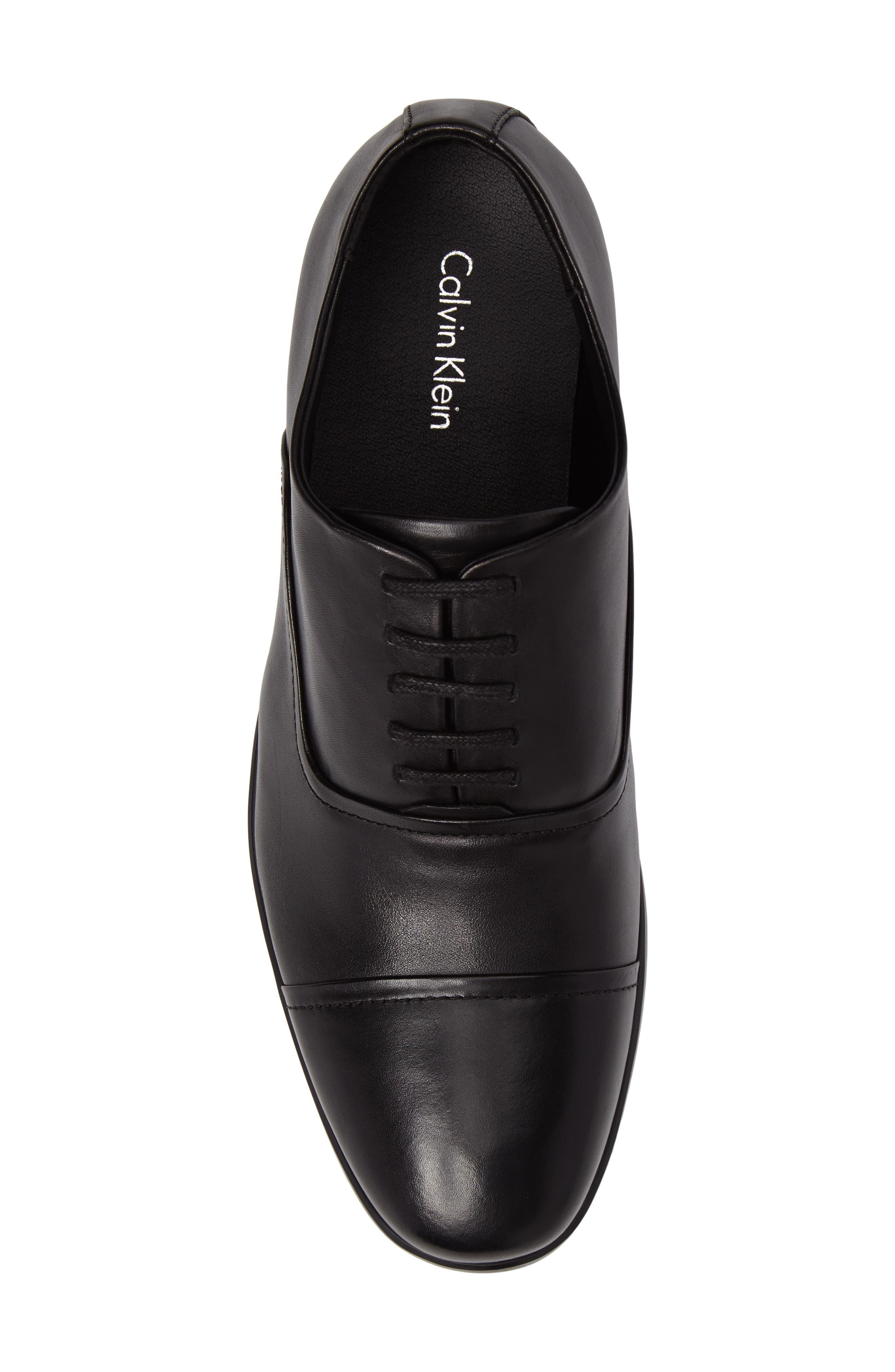 Alternate Image 5  - Calvin Klein Saul Cap Toe Oxford (Men)