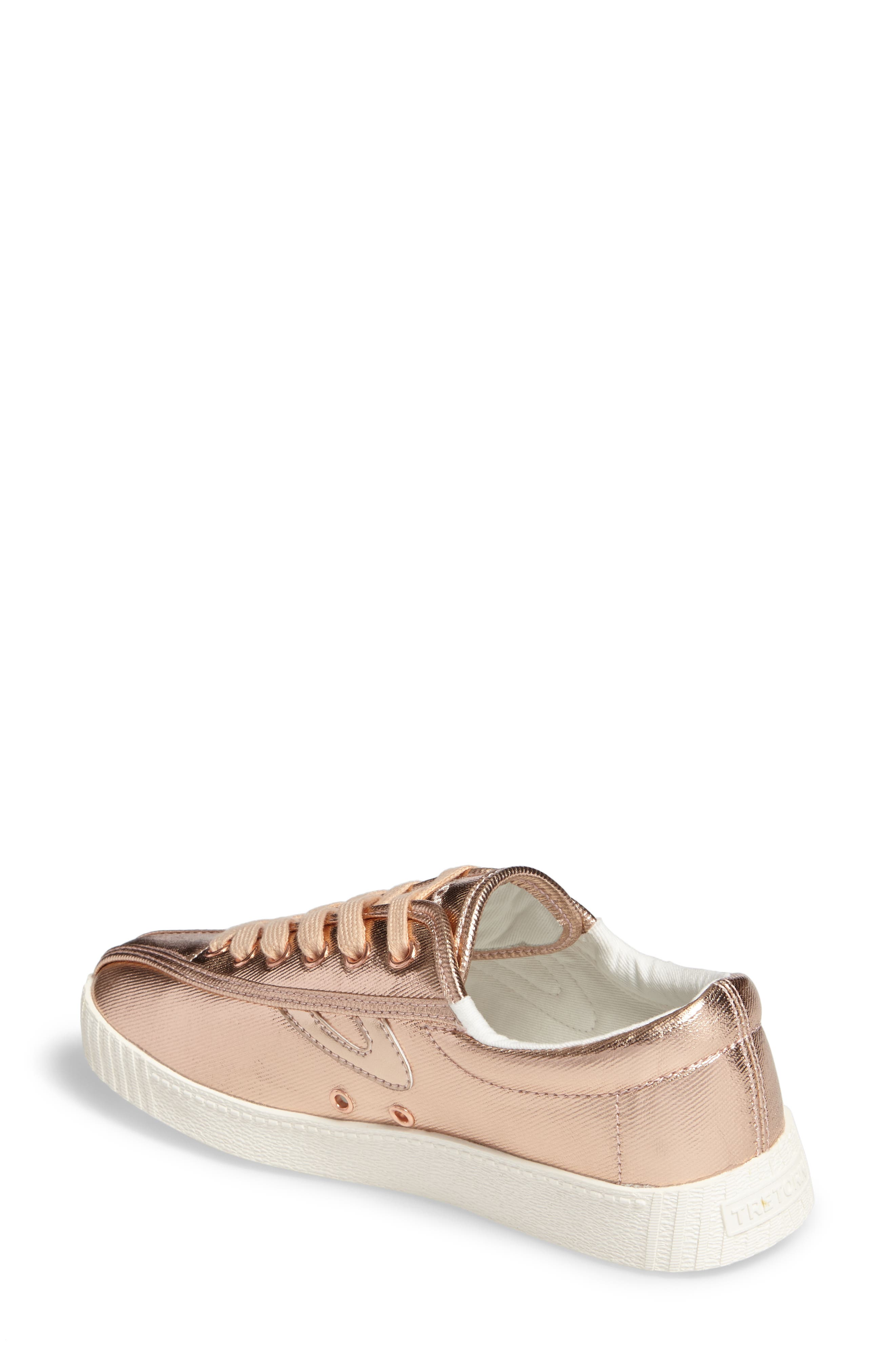 Nylite Plus Sneaker,                             Alternate thumbnail 2, color,                             Rose Gold/ Rose Gold