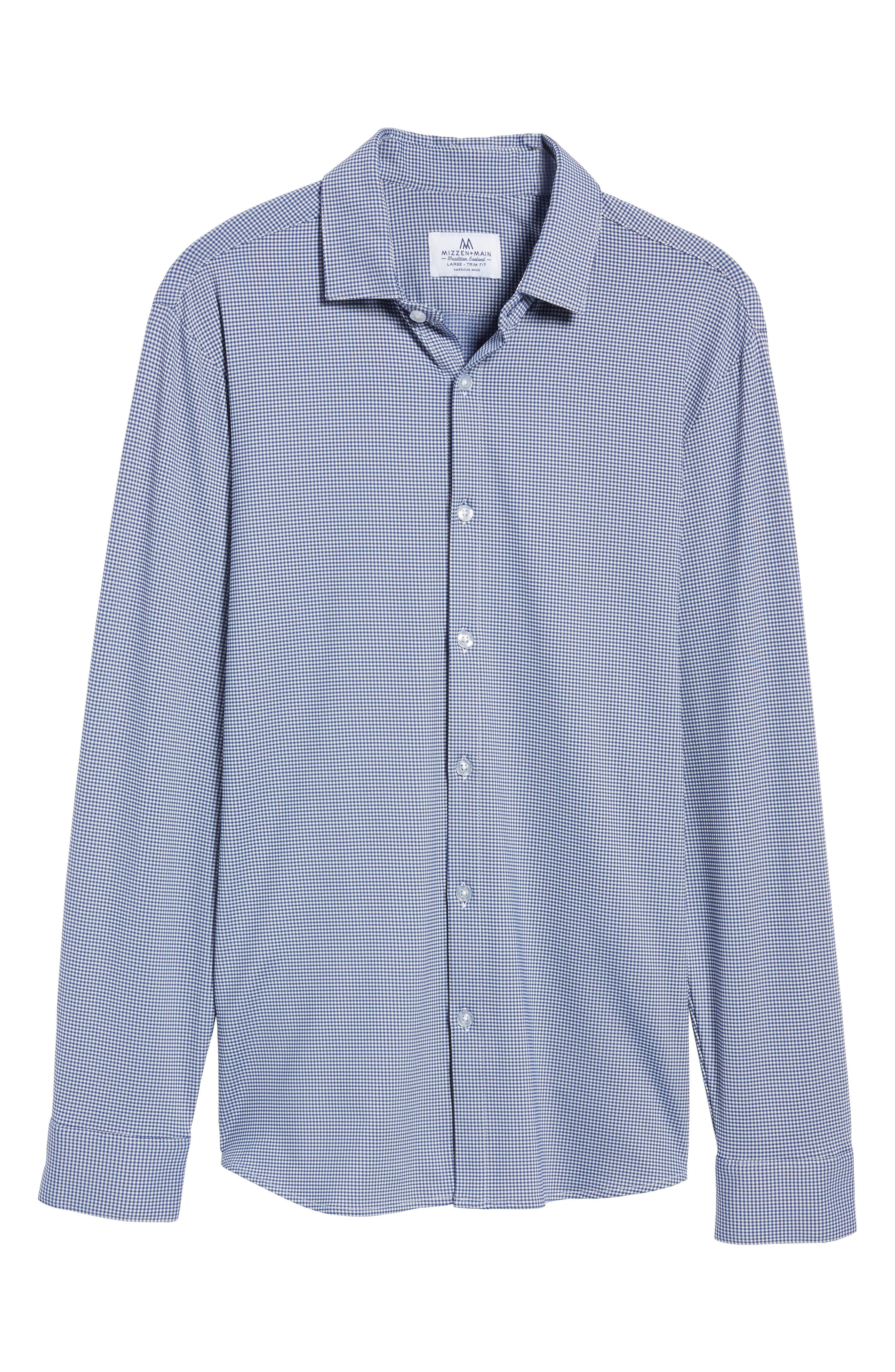 Alternate Image 6  - Mizzen+Main Davenport Gingham Sport Shirt