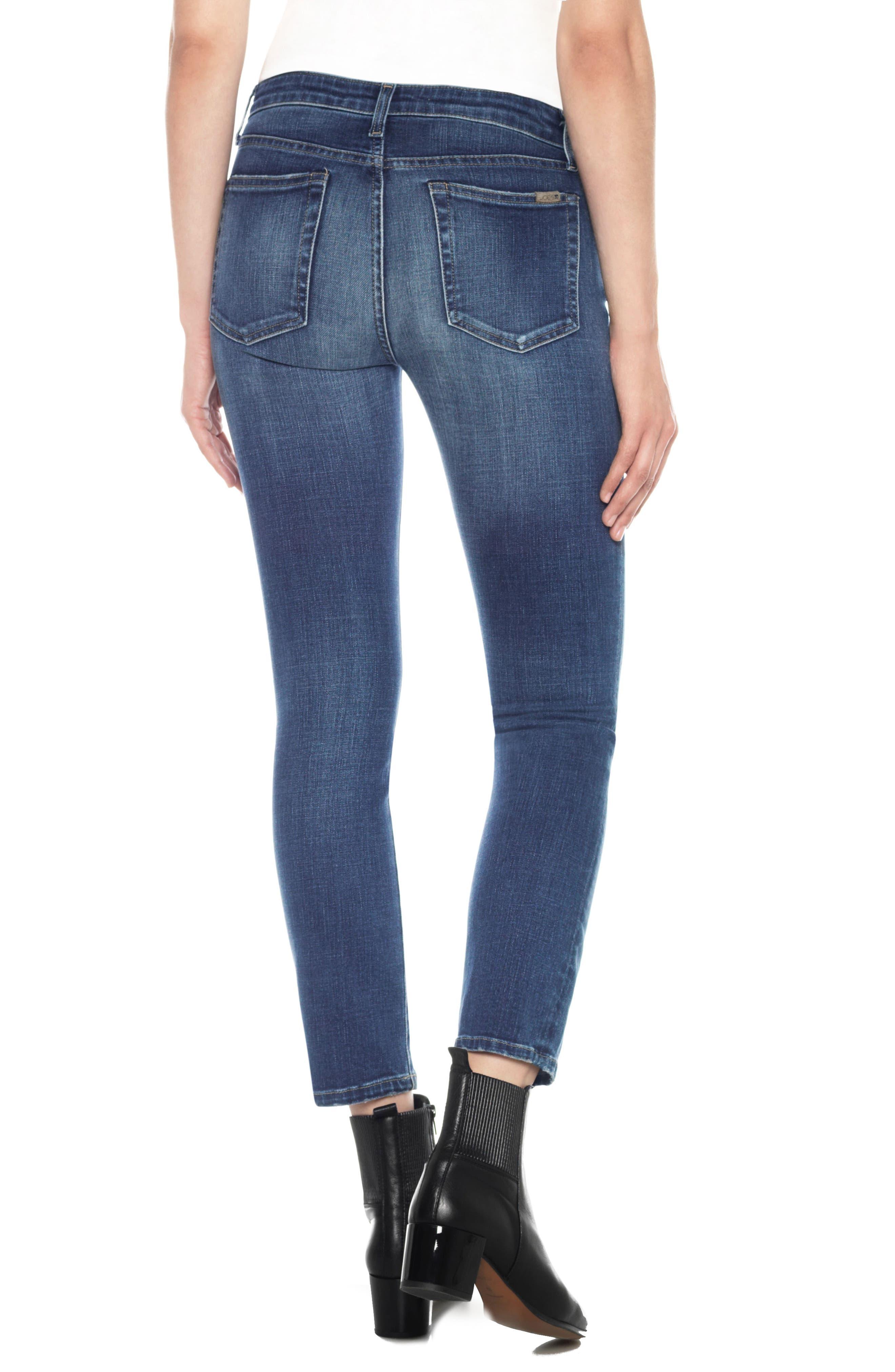 Kass Ankle Straight Leg Jeans,                             Alternate thumbnail 2, color,                             Sutton
