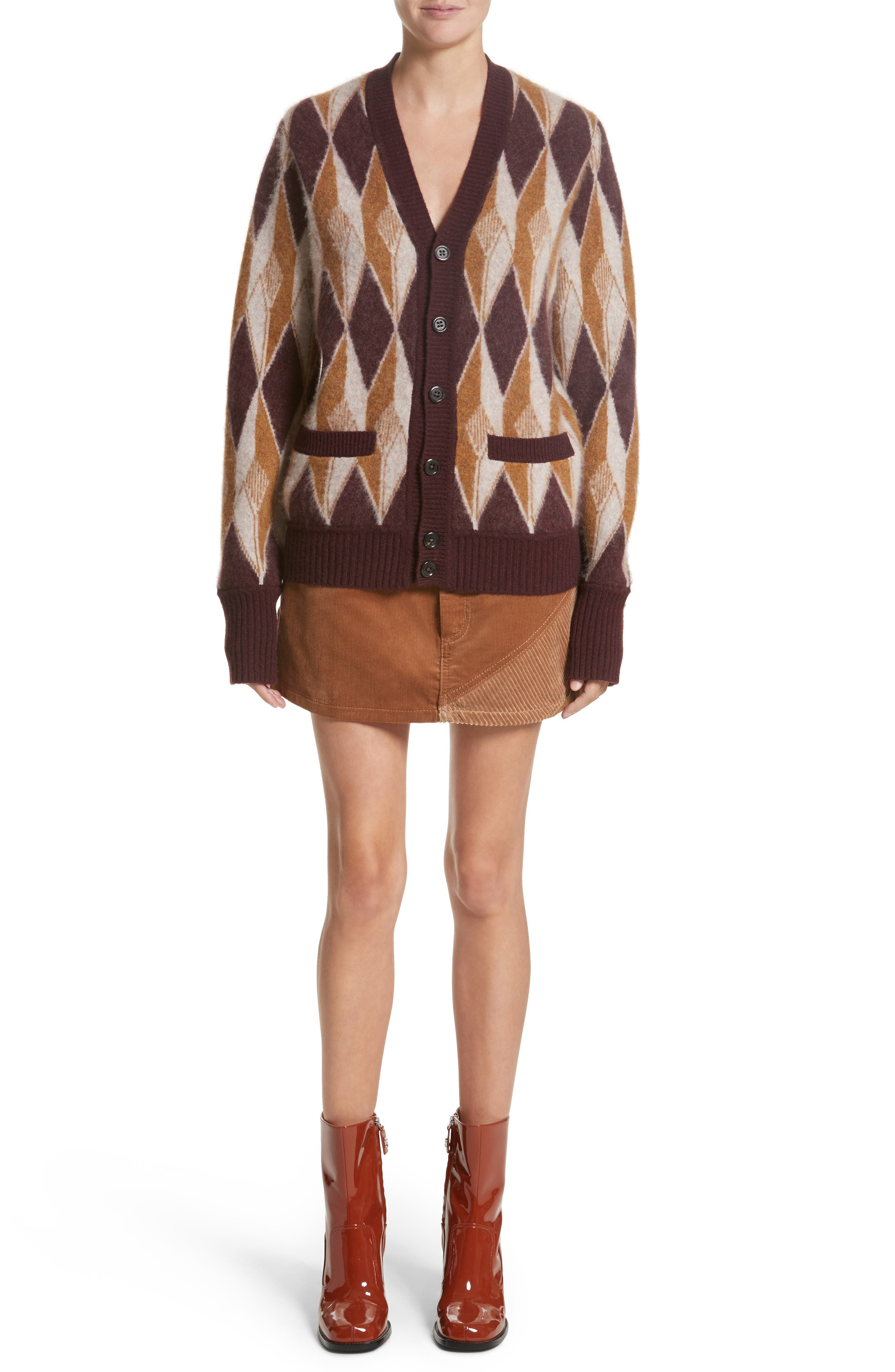 Alternate Image 7  - MARC JACOBS Corduroy Miniskirt