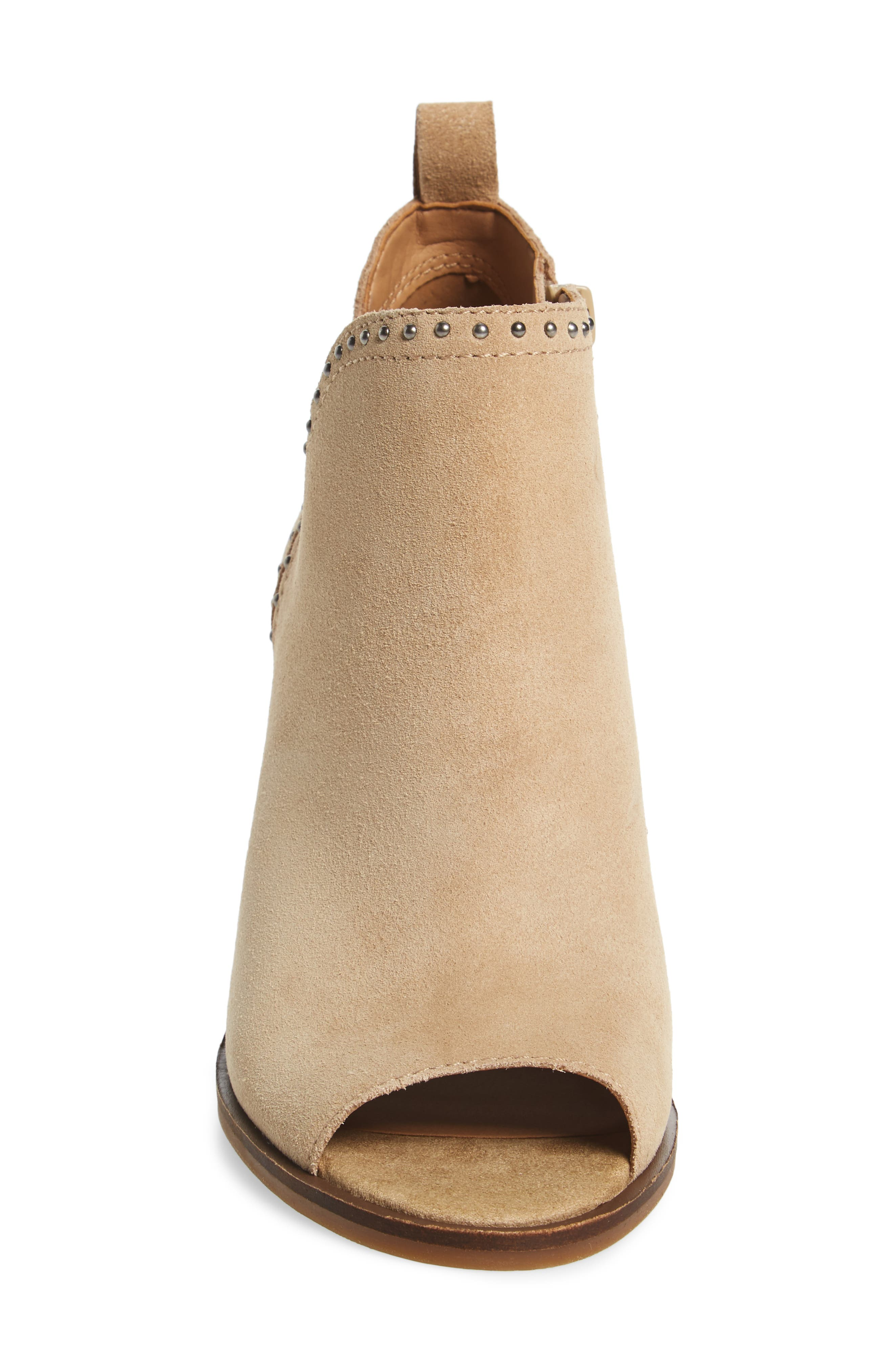 Alternate Image 4  - Lucky Brand Lotisha Studded Open Toe Bootie (Women)