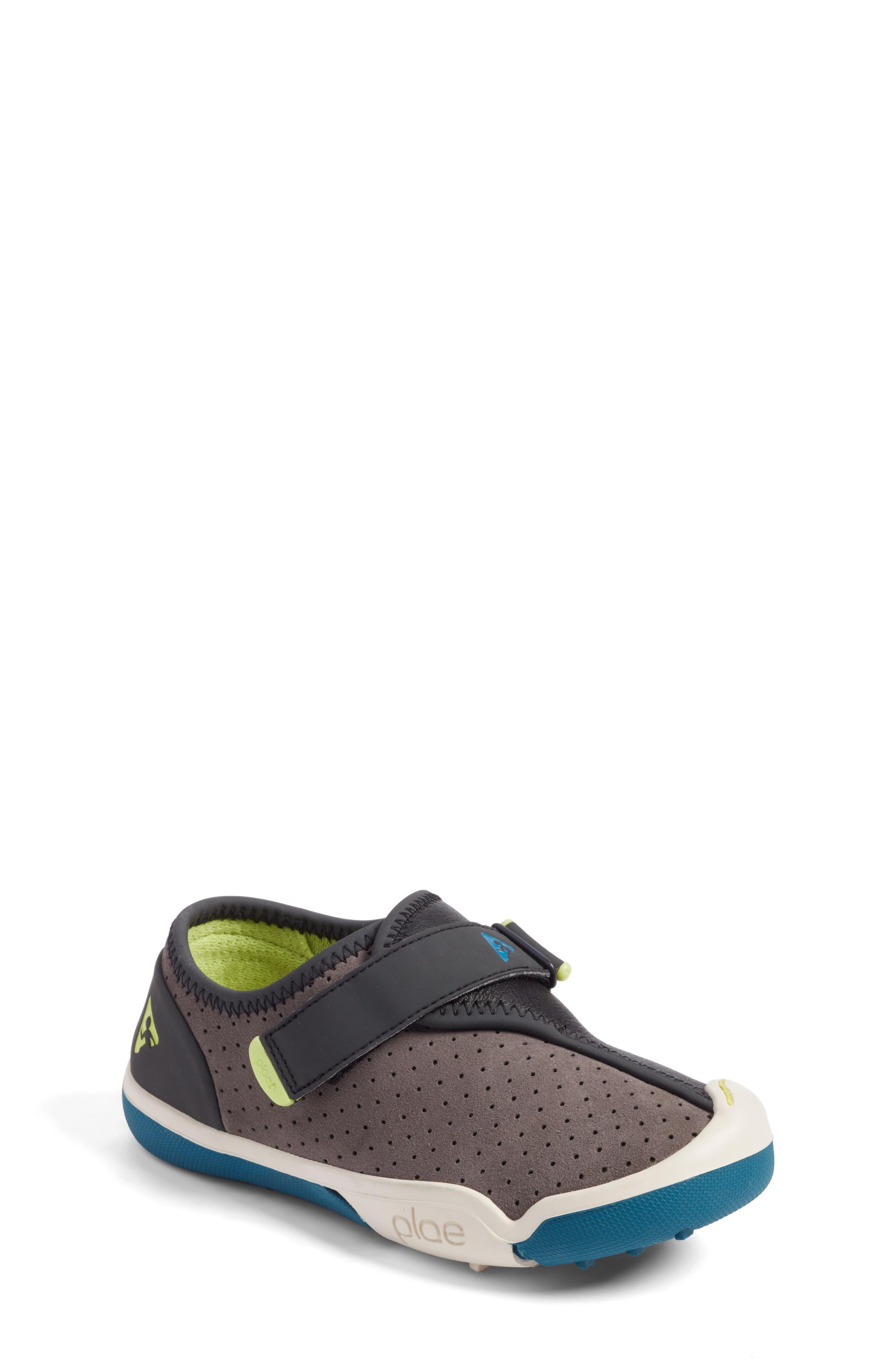 Cam Perforated Sneaker,                         Main,                         color, Lunar Grey