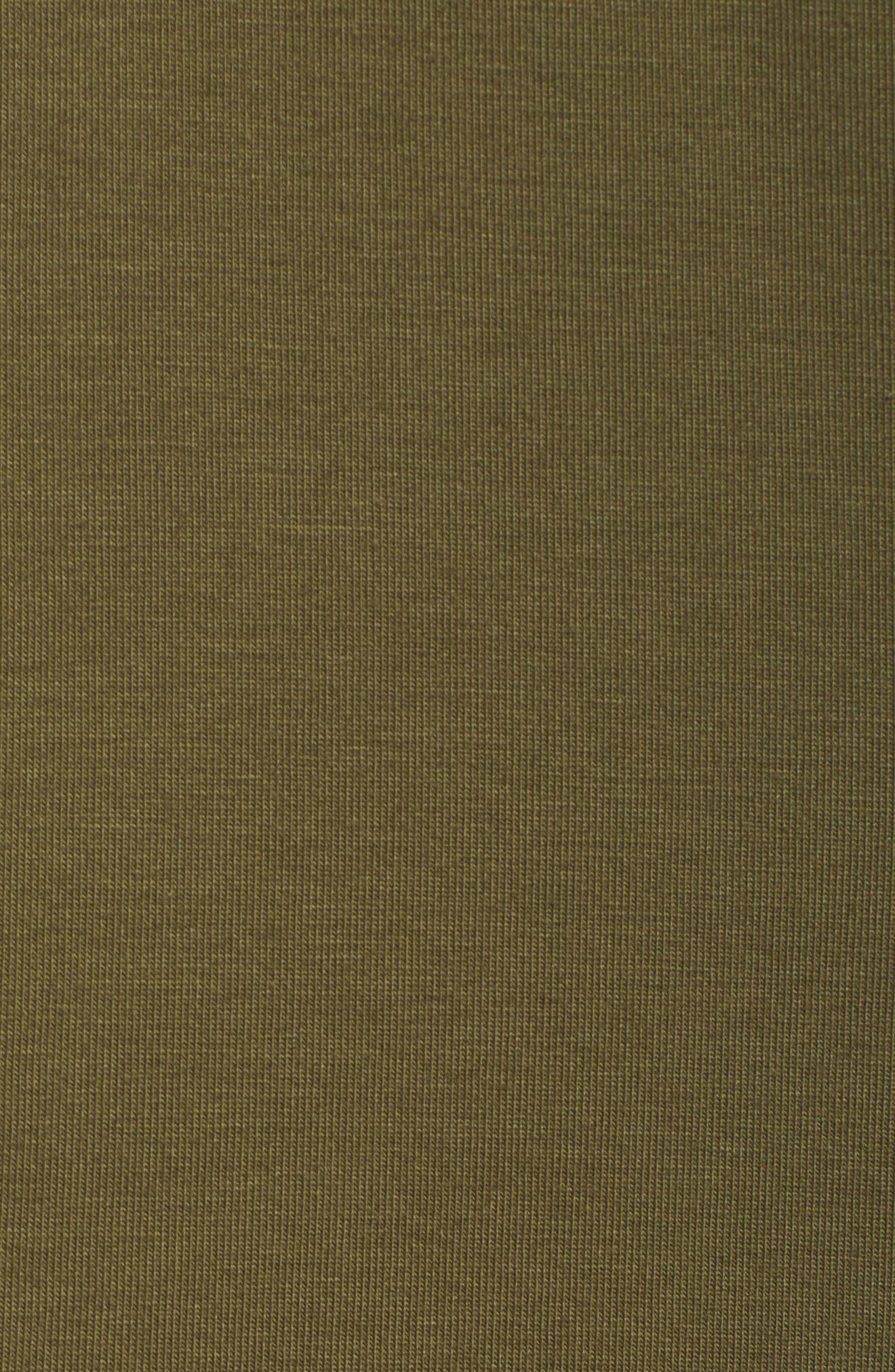 Alternate Image 5  - Eileen Fisher Stretch Organic Cotton Crop Pants (Plus Size)