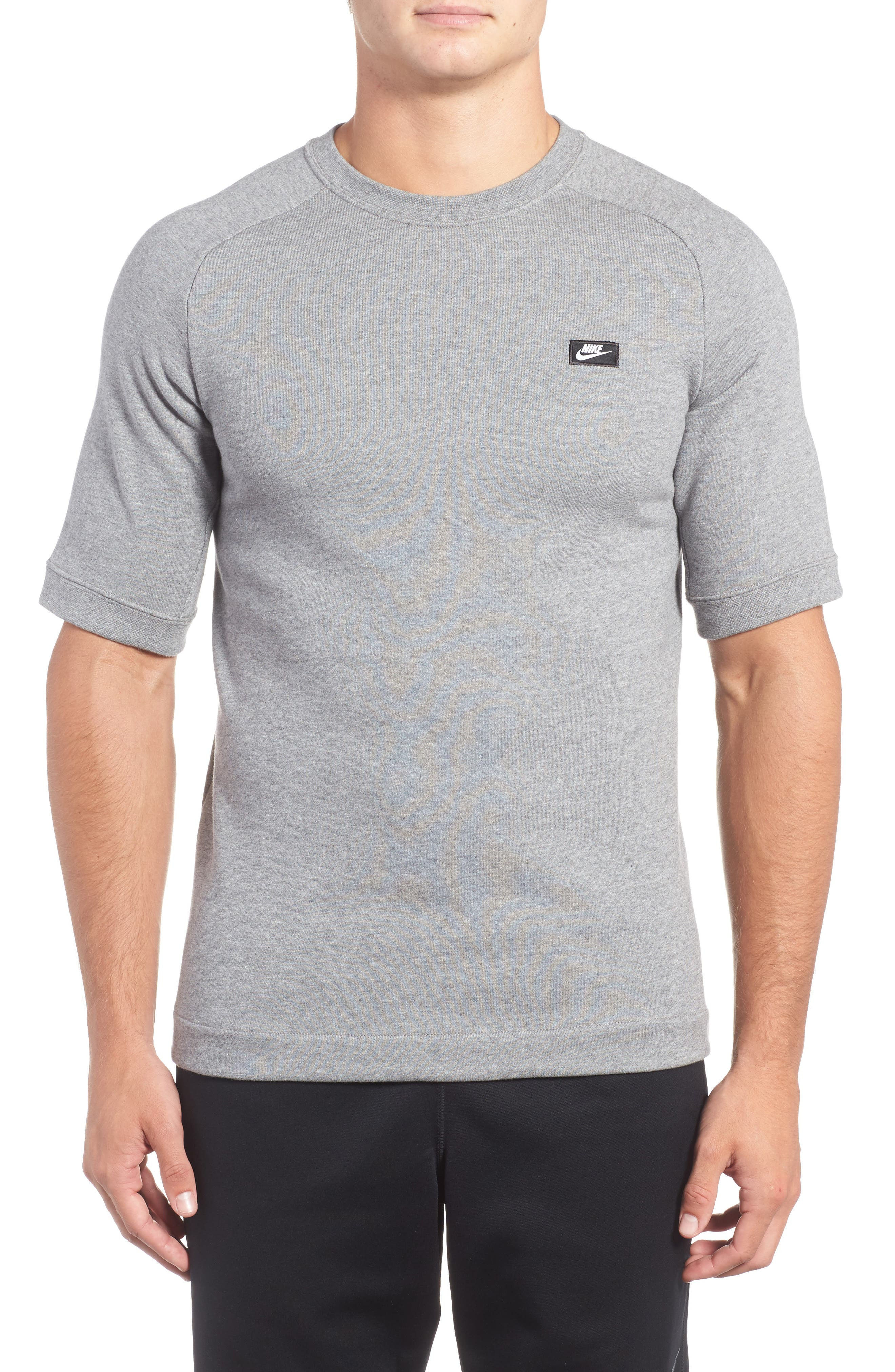 Sportswear Modern Crew T-Shirt,                         Main,                         color, Grey